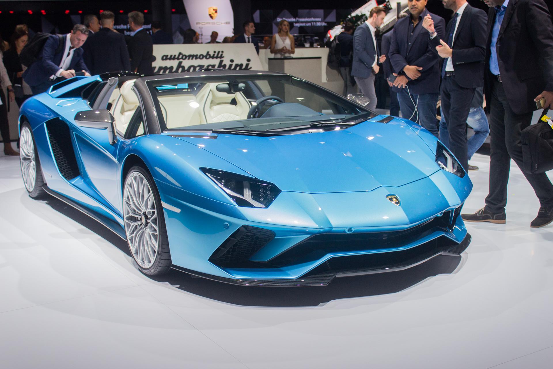 Lamborghini Aventador S Roadster Lambo S Newest Big Buck Bald Bull