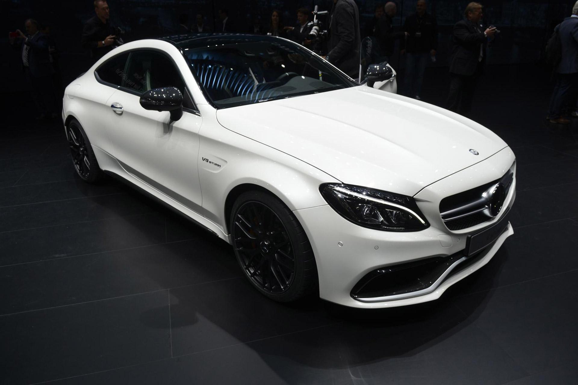 2017 Mercedes-AMG C63 Coupe: 2015 Frankfurt Auto Show Live Photos & Video