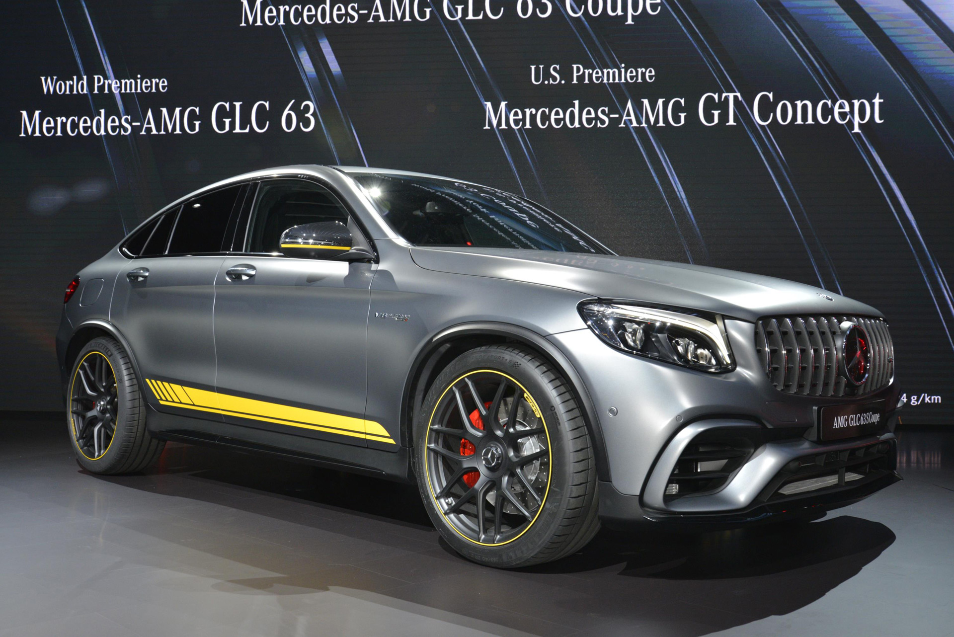 Gle Coupe Facelift 2018 >> The 2018 Mercedes-AMG GLC63 and GLC63 Coupe are your insane compact SUVs