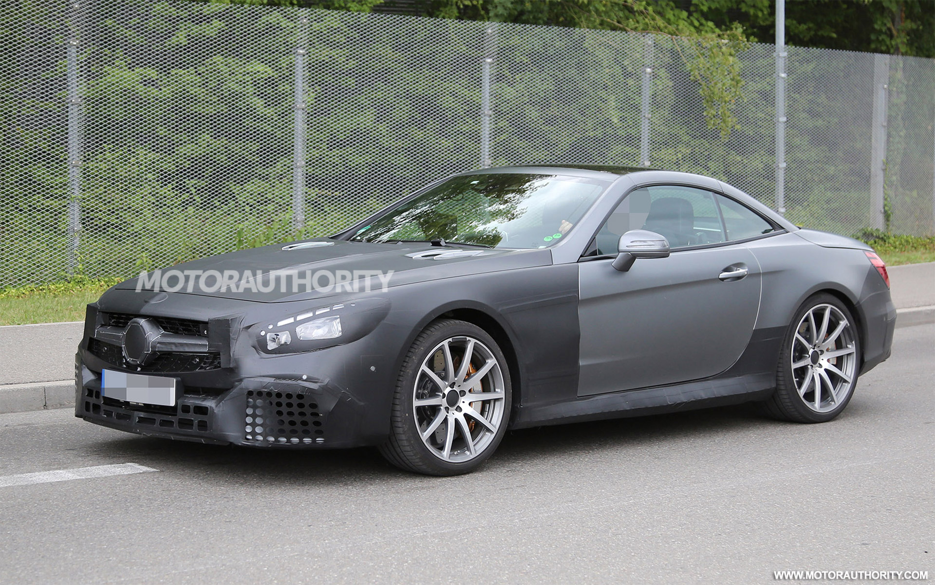 2017 Mercedes Amg Sl63 Spy Shots