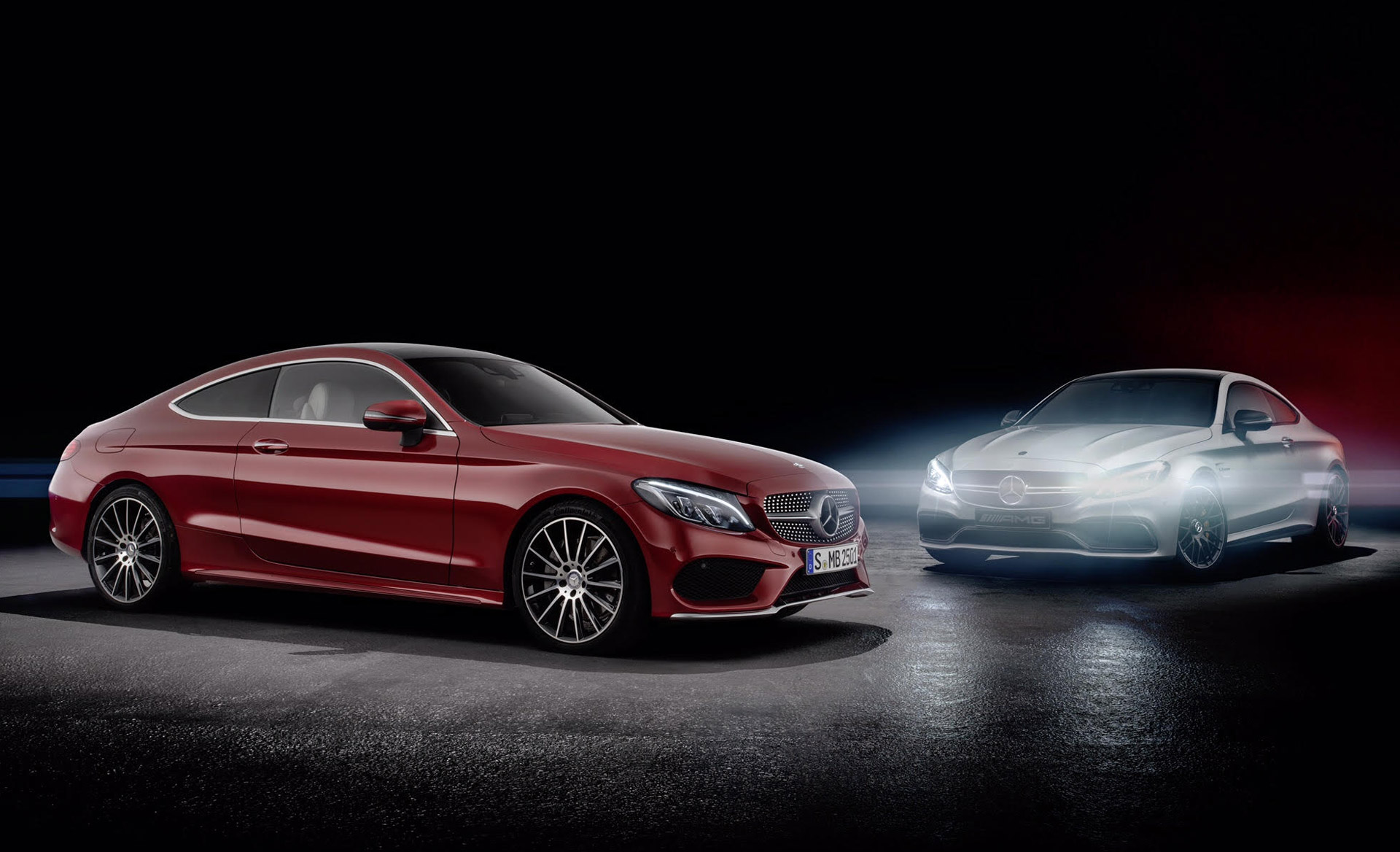 compare and contrast the new c class coupe to the upcoming c63. Black Bedroom Furniture Sets. Home Design Ideas