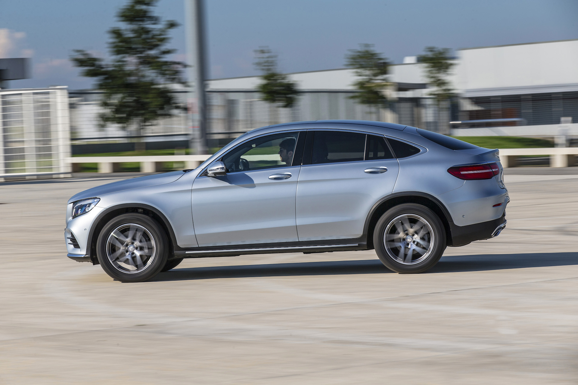 2017 mercedes benz glc300 4matic coupe first drive review for Mercedes benz motorsport