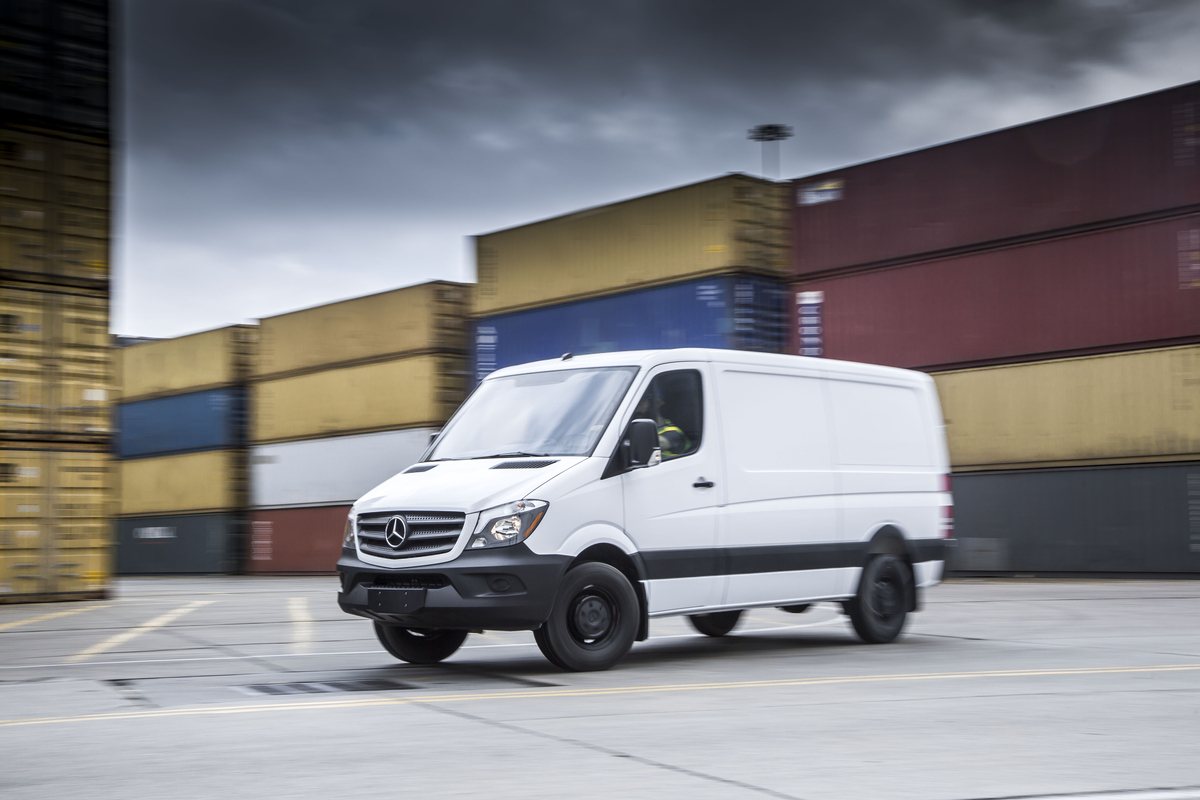 2017 mercedes benz sprinter review ratings specs prices for Mercedes benz van