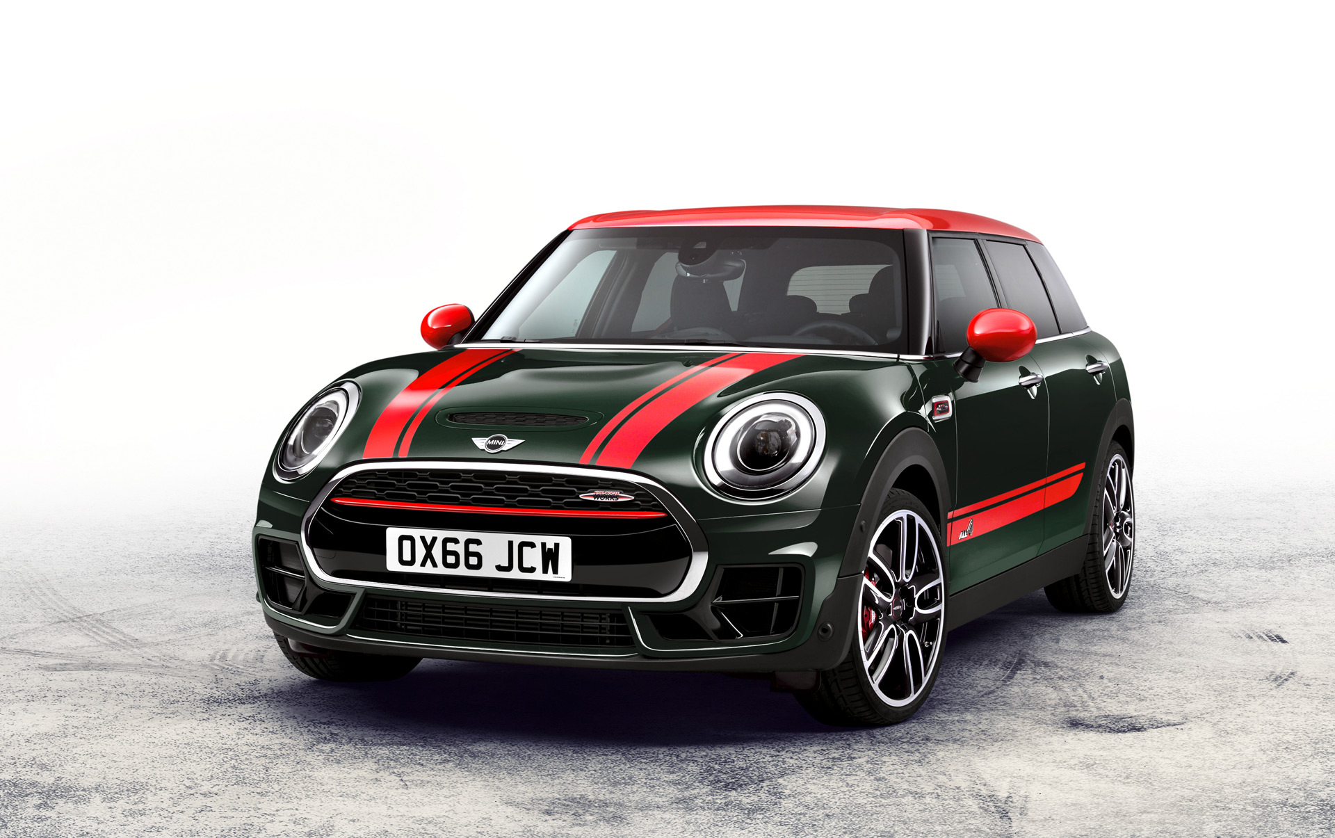 new mini clubman spawns 228-hp john cooper works model