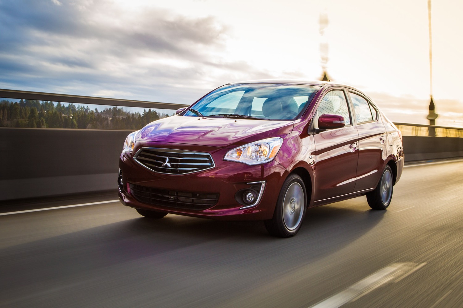 Mitsubishi Mirage Sedan Unveiled At Toronto Auto Show