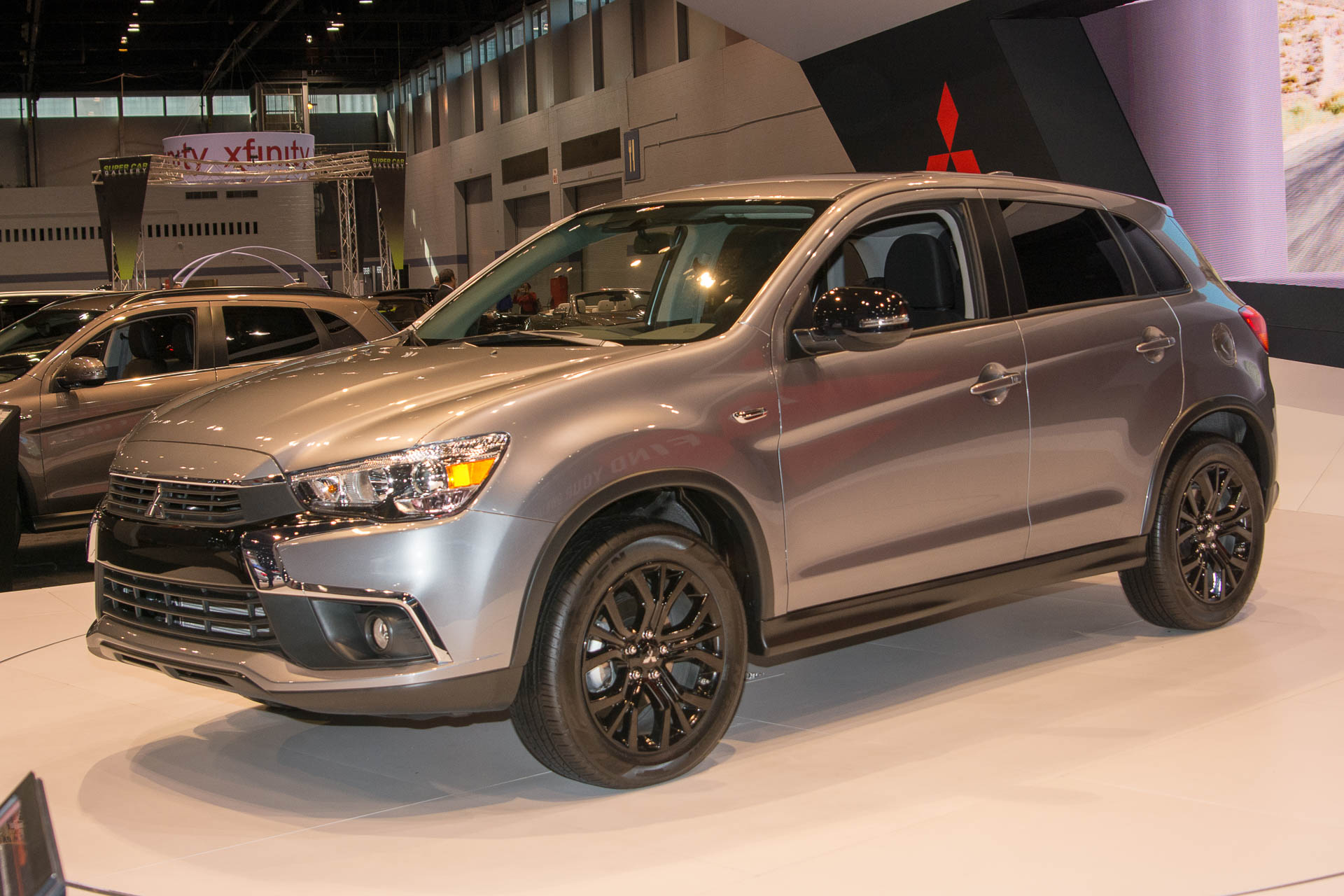 Mitsubishi shows new 2017 Outlander Sport LE trim ahead of ...
