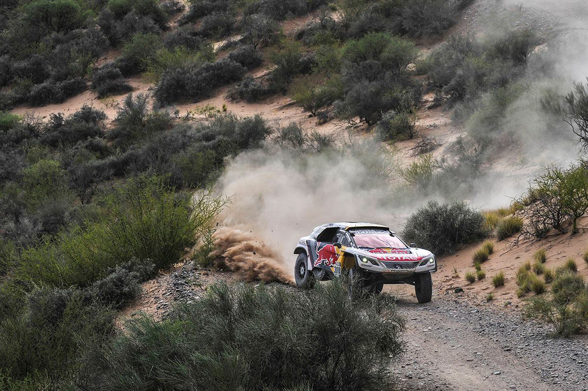 1 2 3 finish for peugeot in 2017 dakar rally. Black Bedroom Furniture Sets. Home Design Ideas