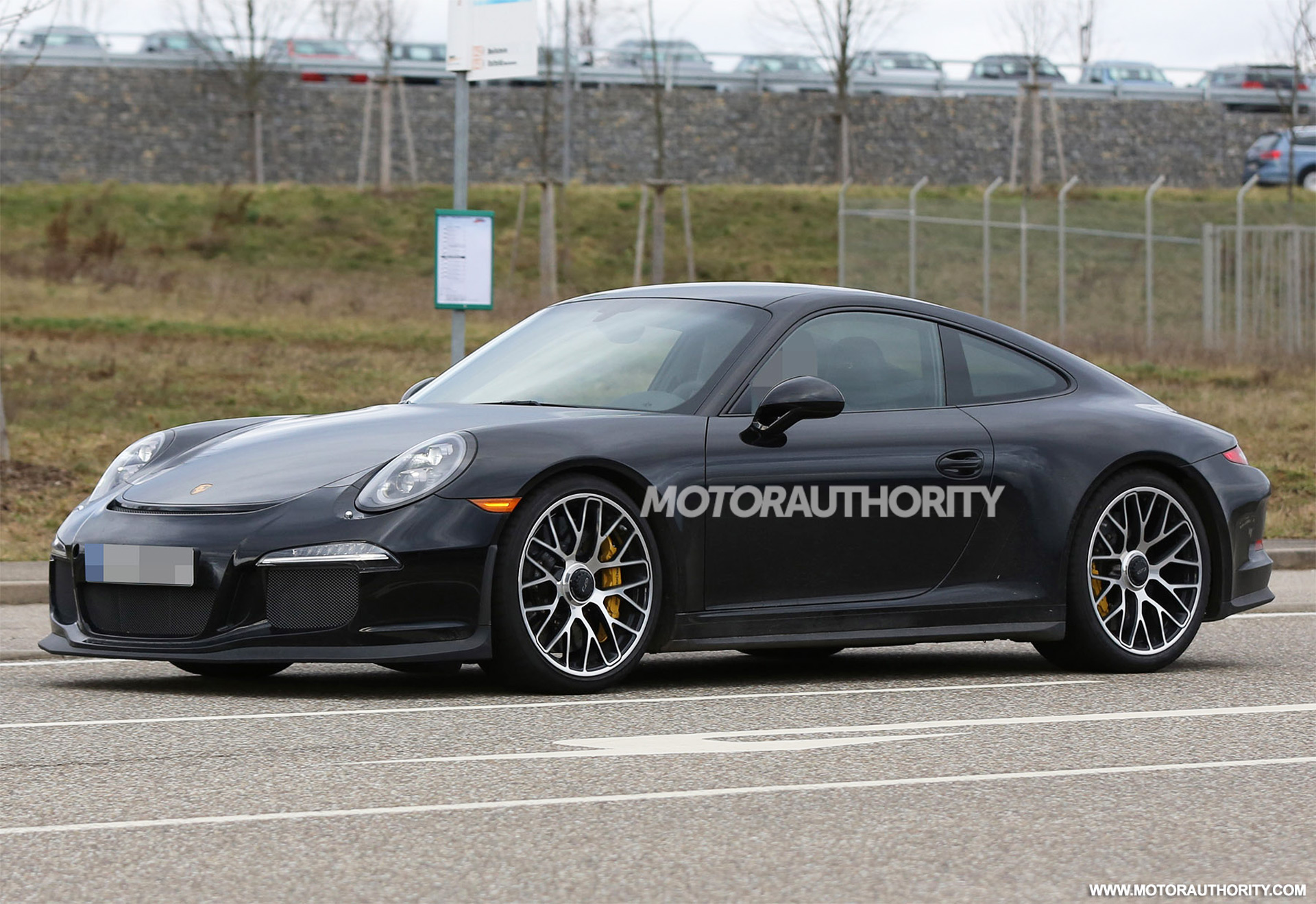 2017 porsche 911 r spy shots. Black Bedroom Furniture Sets. Home Design Ideas