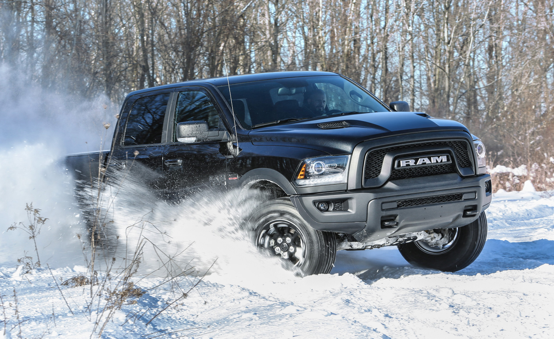 2017 ram 1500 rebel black to debut in detroit. Black Bedroom Furniture Sets. Home Design Ideas