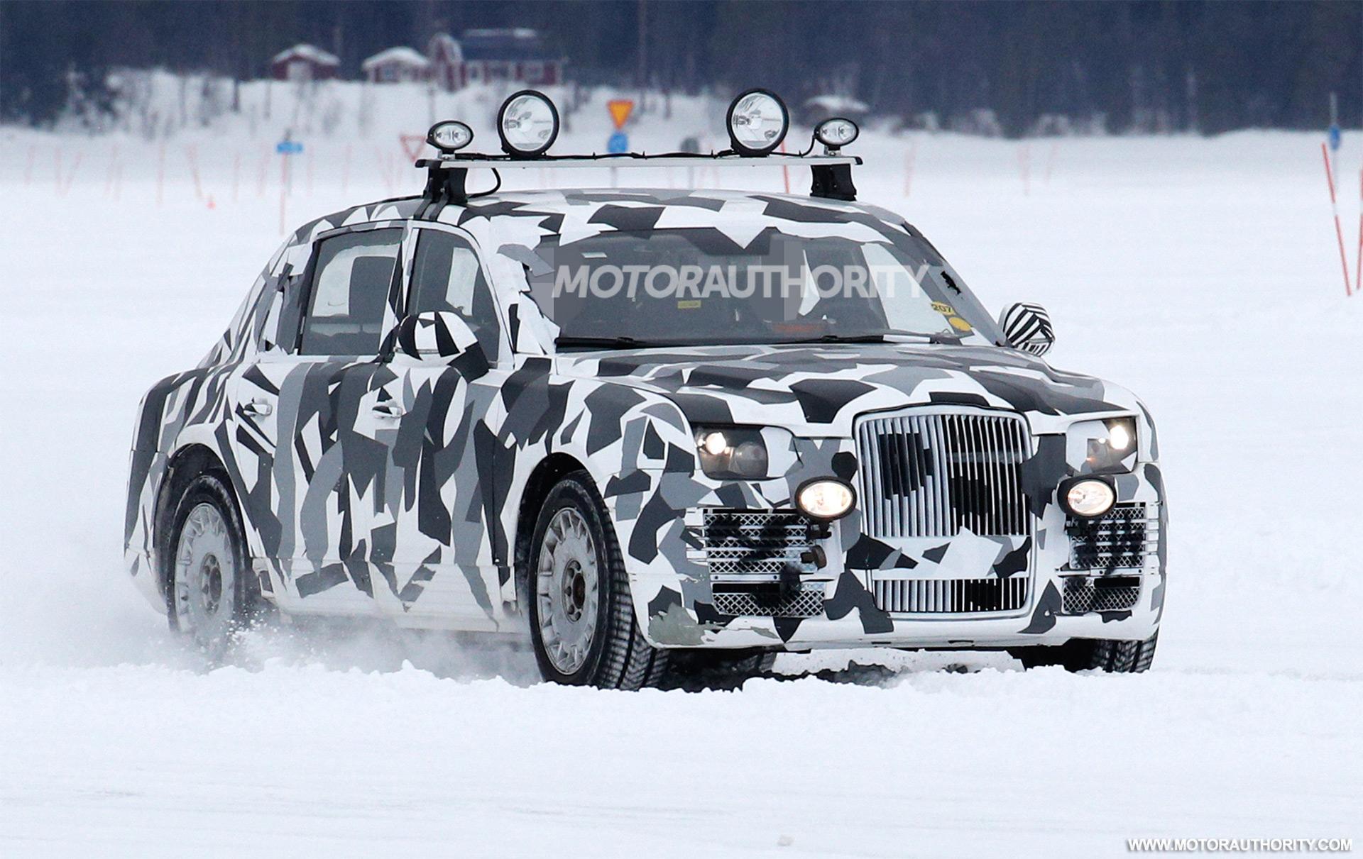2017 Kia Niro Fe >> 2017 Russian presidential limo (Kortezh) spy shots