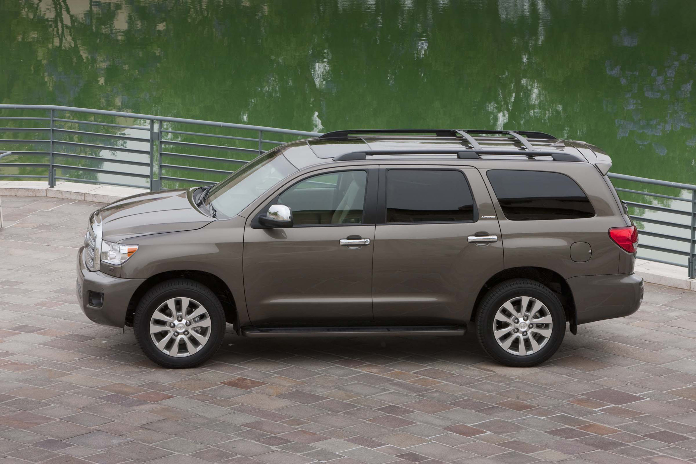 2017 toyota sequoia review ratings specs prices and photos the car connection. Black Bedroom Furniture Sets. Home Design Ideas