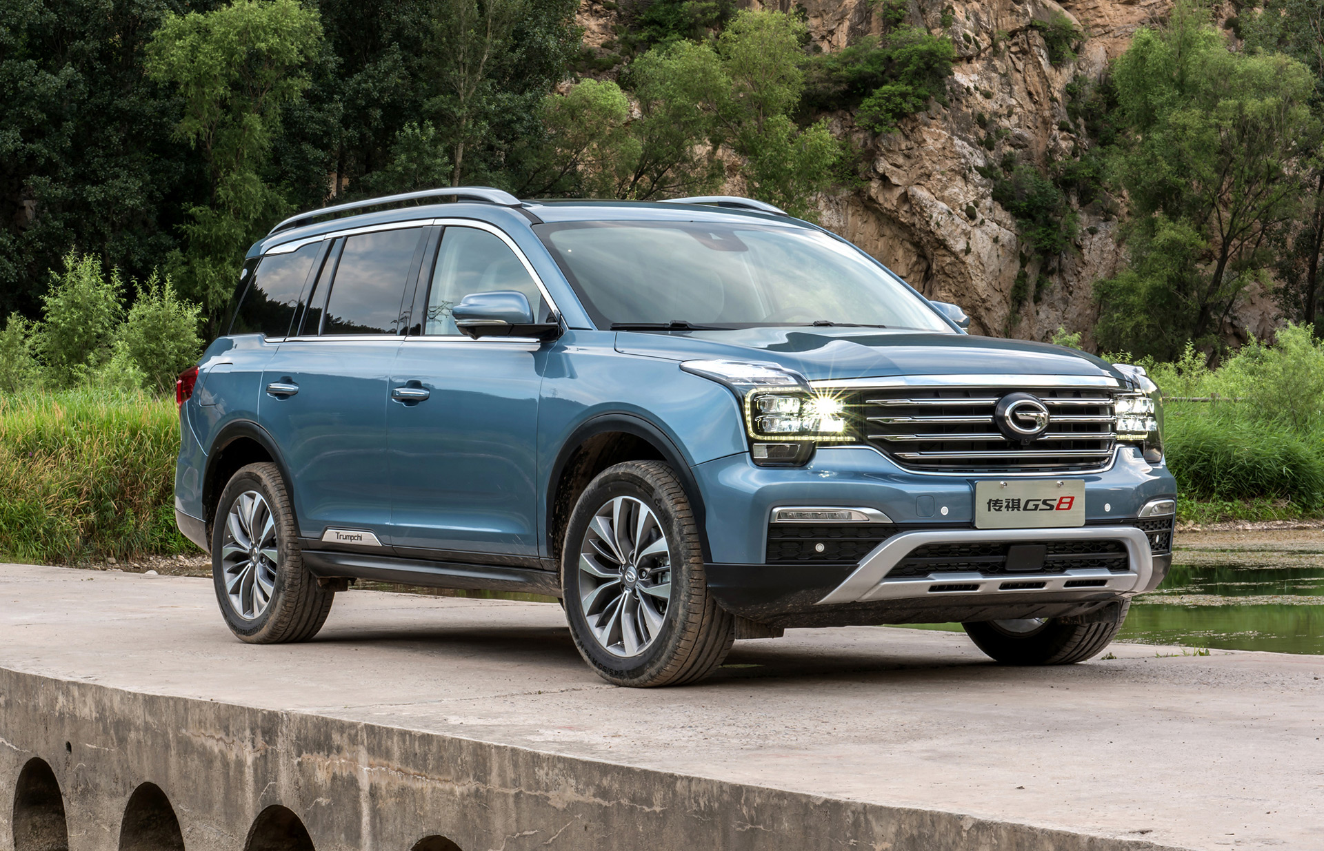 GAC Motor to enter US market in 2019 with Trumpchi GS8 SUV