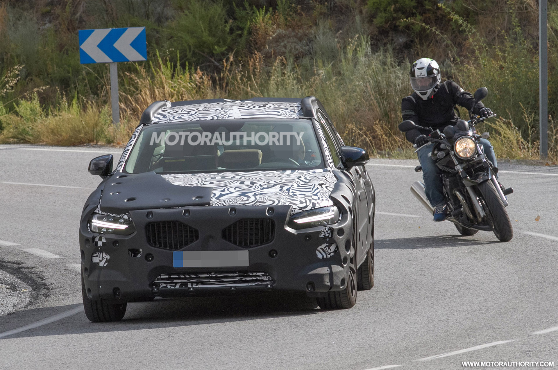 2017 Volvo S90 Spy Shots