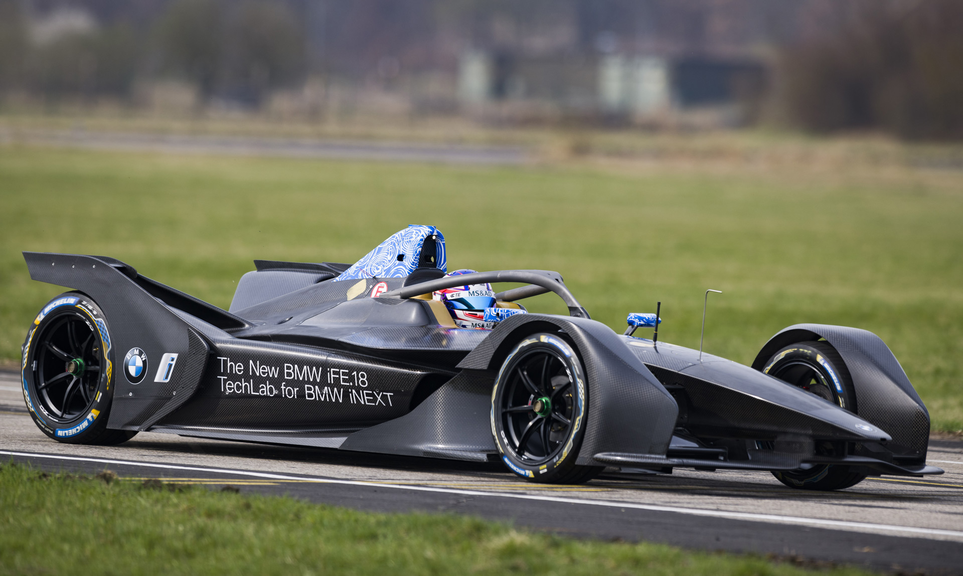 bmw completes initial shakedown for formula e racer. Black Bedroom Furniture Sets. Home Design Ideas