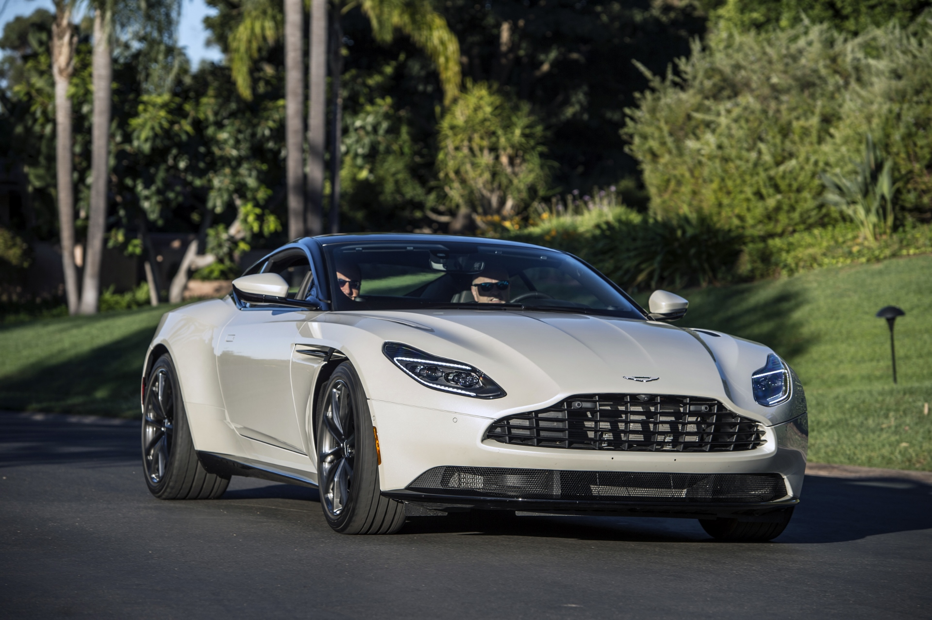 2018 aston martin db11 review ratings specs prices and photos the car connection. Black Bedroom Furniture Sets. Home Design Ideas