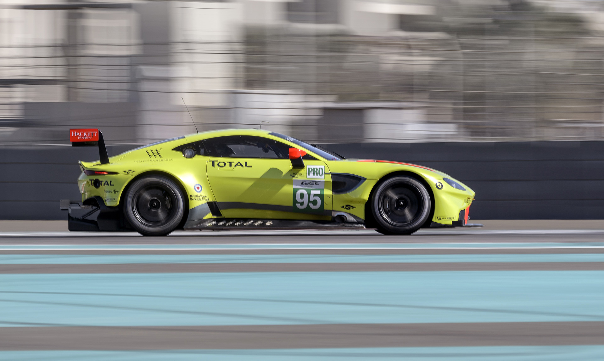 new aston martin vantage race car ready to take on 2018/2019 wec