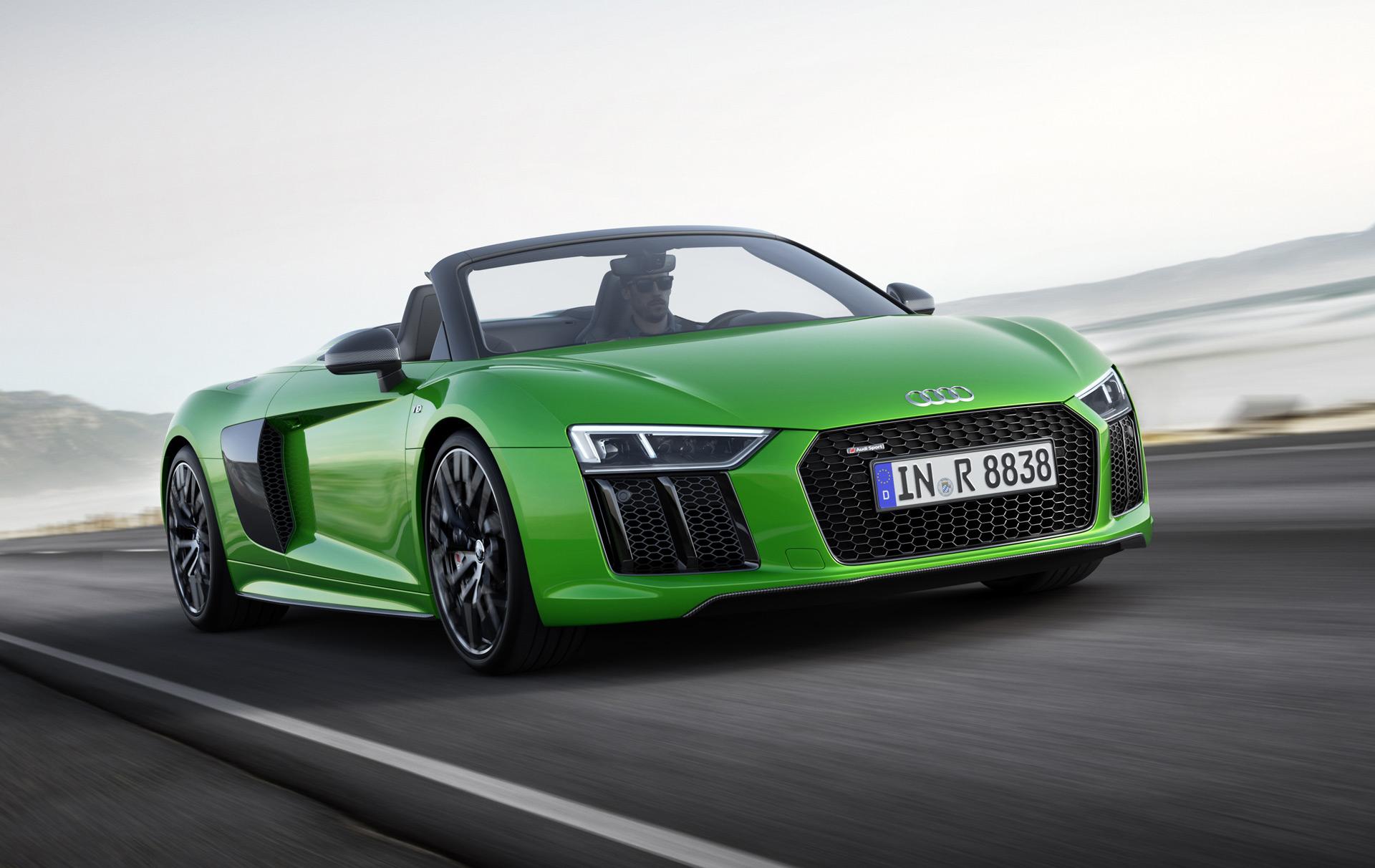 Audi Adds 610 Horsepower R8 Spyder V10 Plus To Range