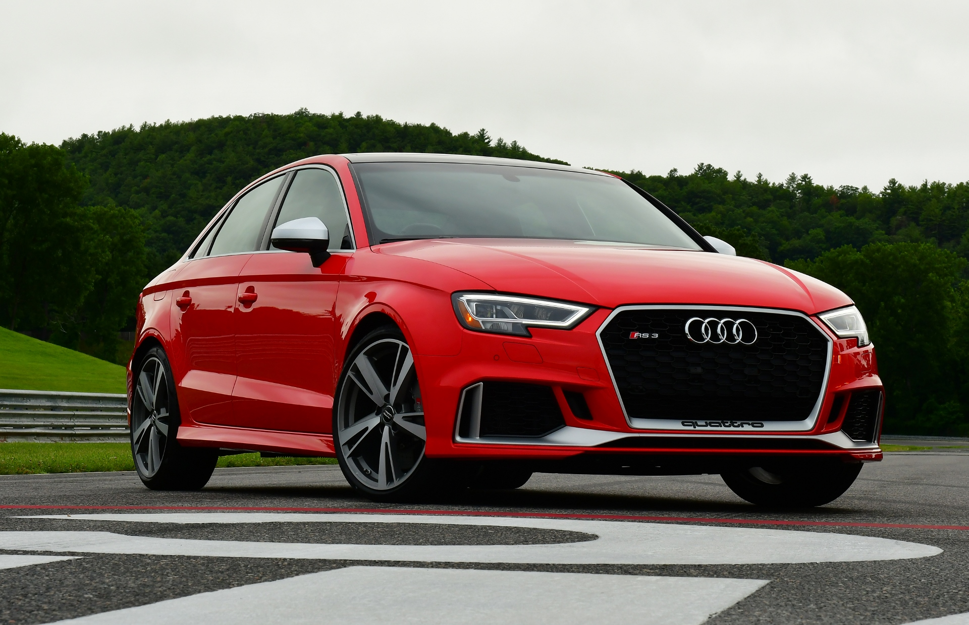 2018 audi rs 3 first drive review less money but no less fun. Black Bedroom Furniture Sets. Home Design Ideas