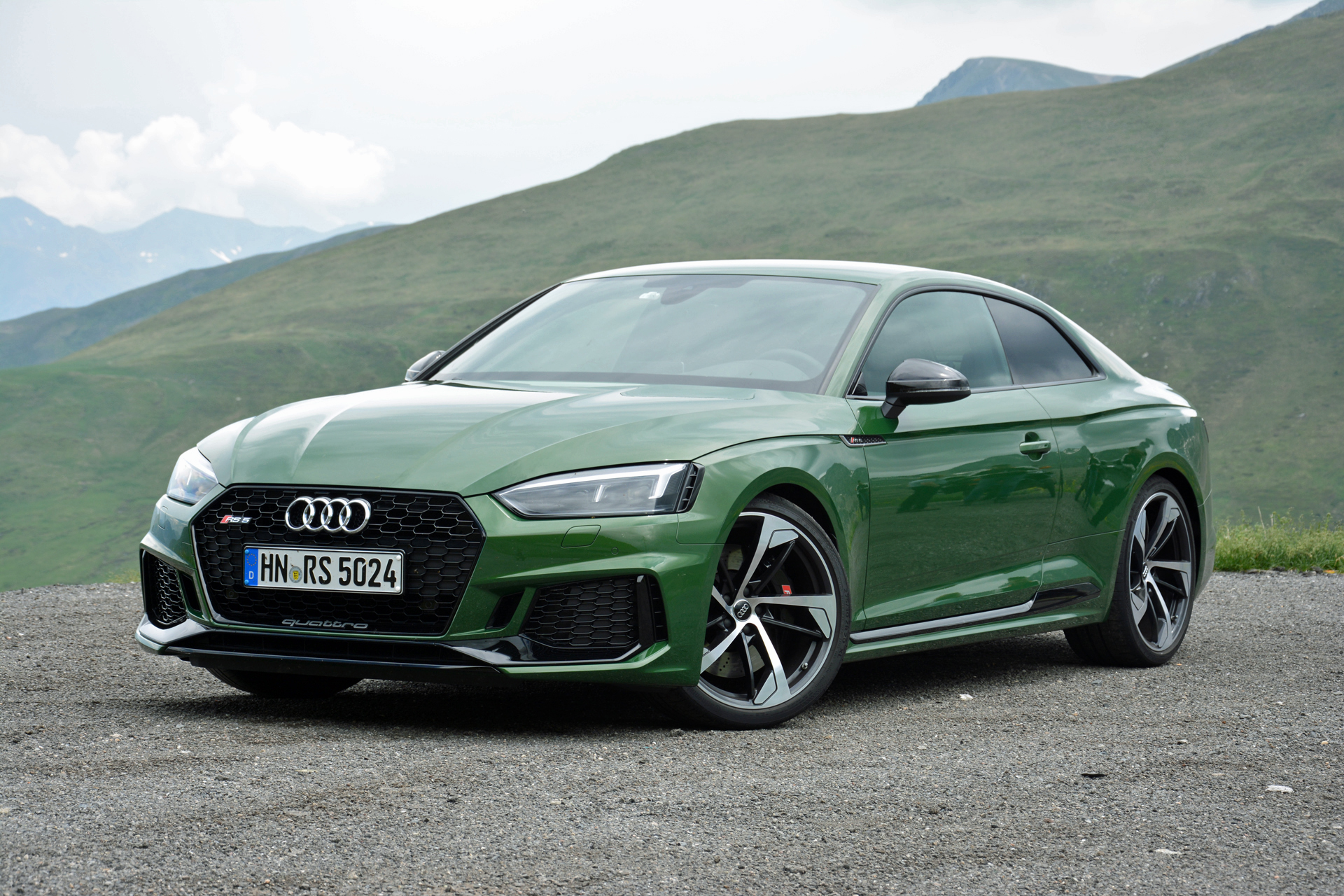 2018 Audi RS 5 First Drive Review: Green With Mean (Page 3