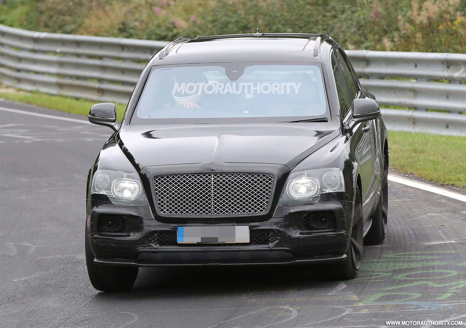 2020 Bentley Bentayga Speed Spy Shots