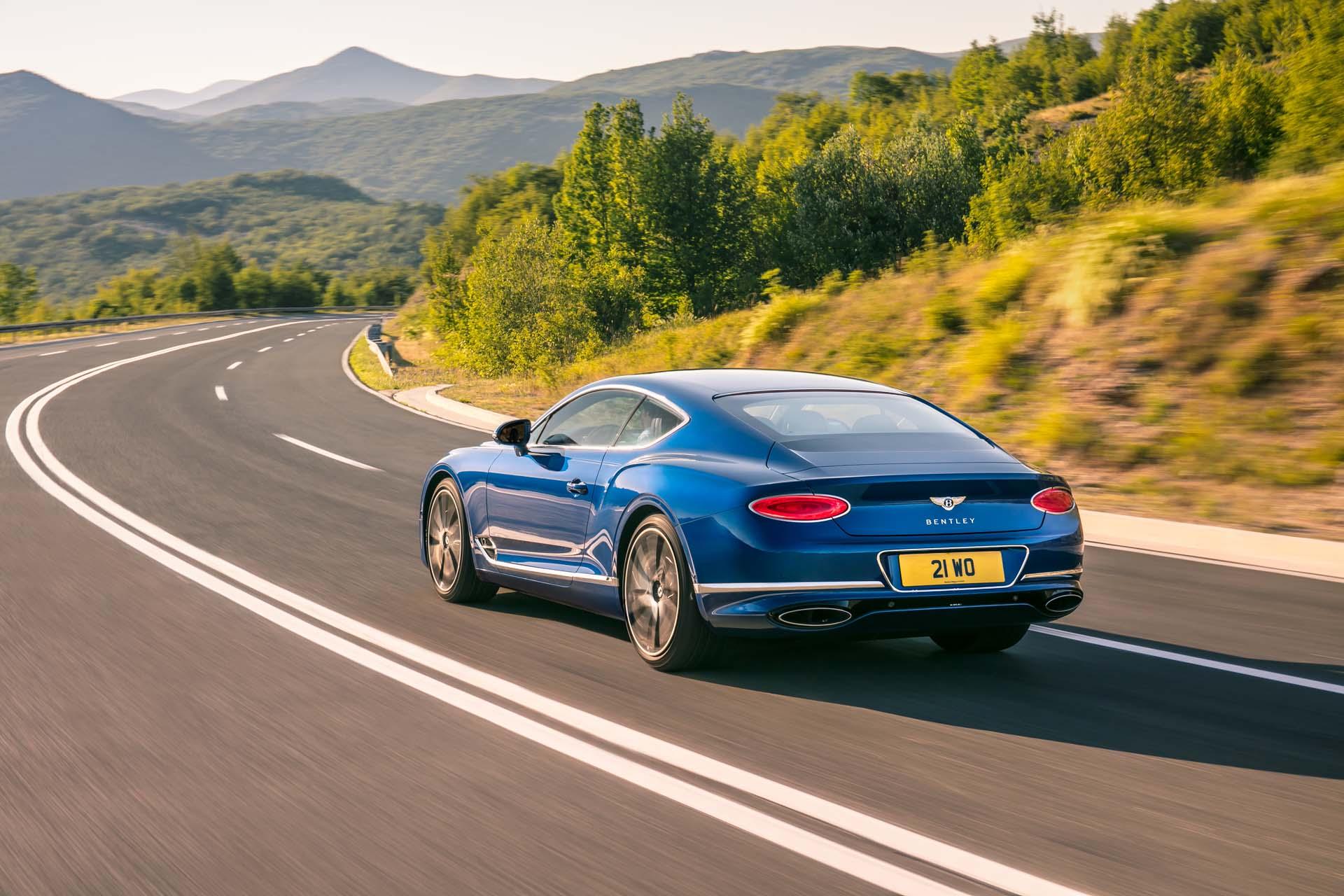 2019 Porsche Cayenne 2018 Bentley Continental Gt 2018