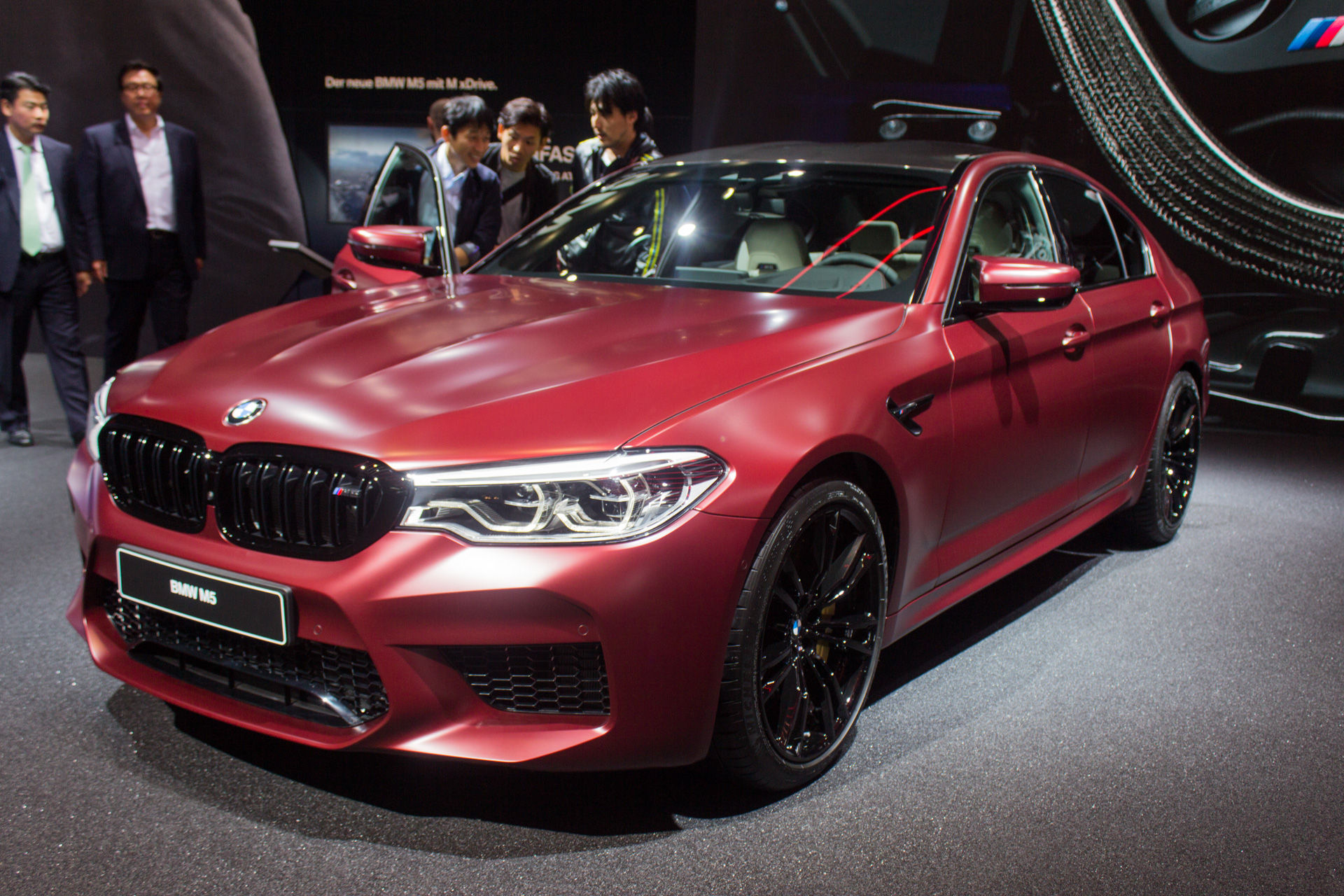 All of the wheels, all of the power; meet the new 2018 BMW M5