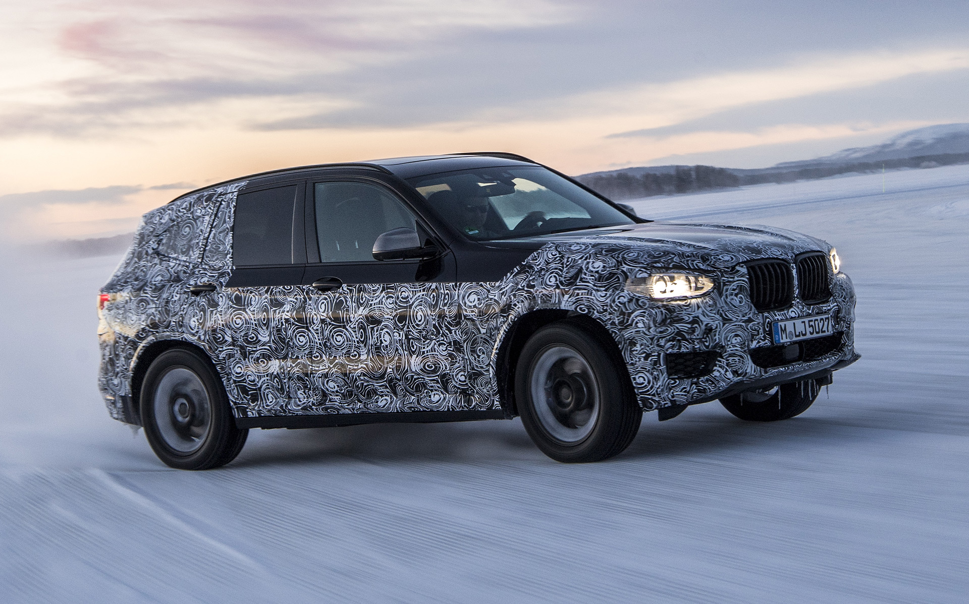 BMW gives look at 2018 X3 testing