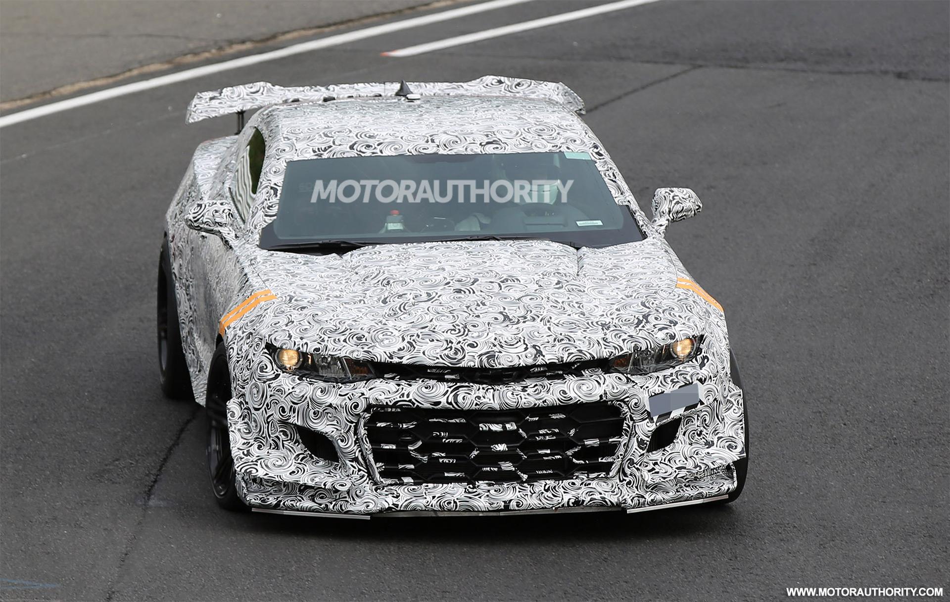 2018 Chevrolet Camaro Z 28 Spy Shots