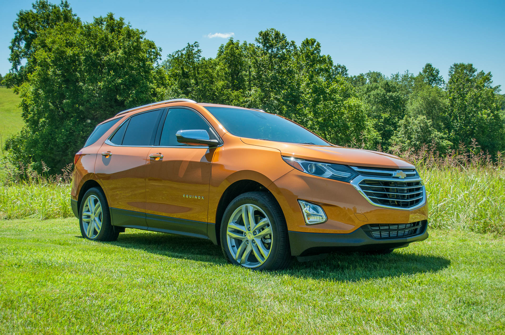 2018 Chevrolet Equinox 2 0t First Drive More Power More