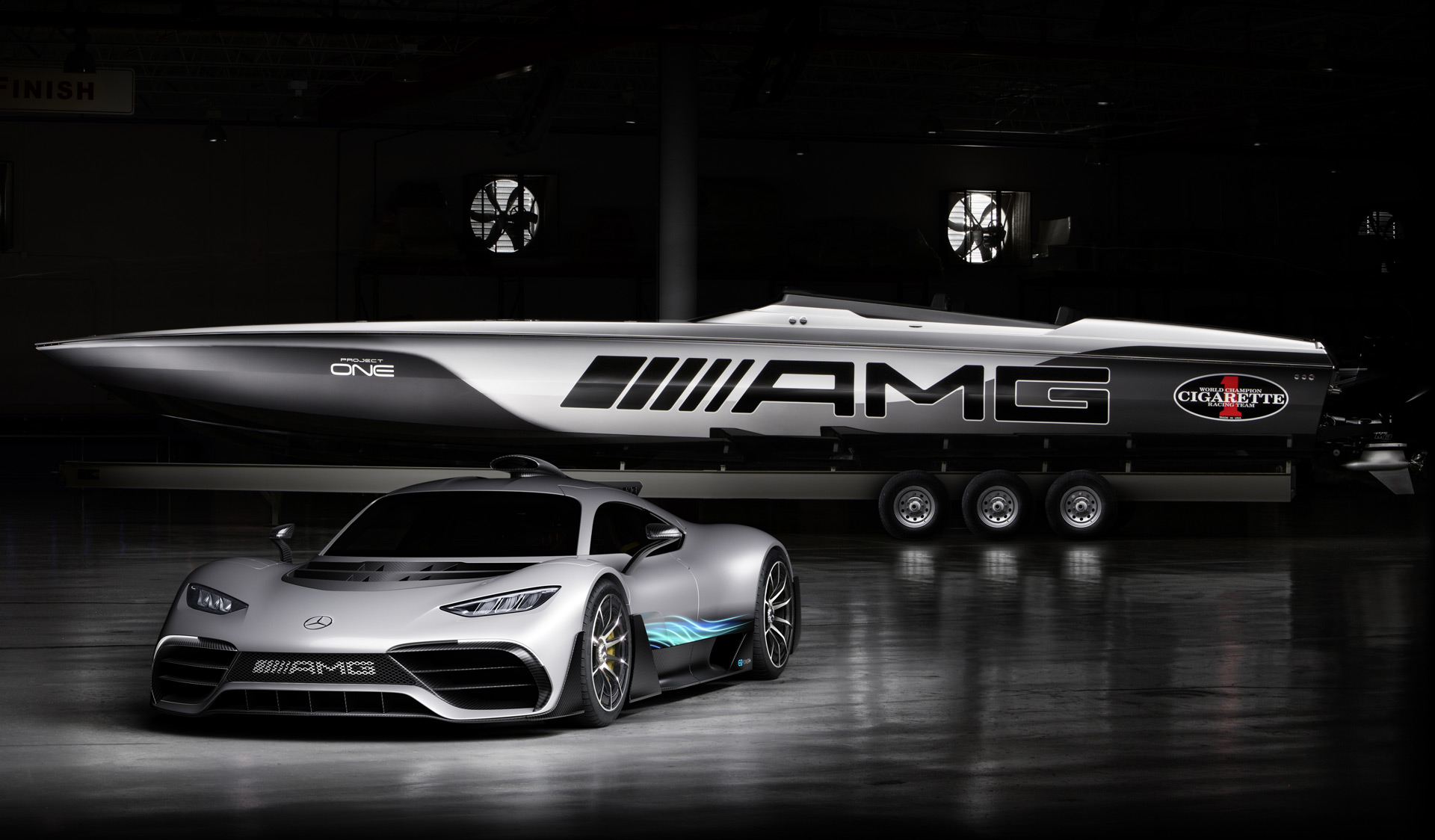 Cigarette Racing 515 Project One is a 3,100-horsepower ...