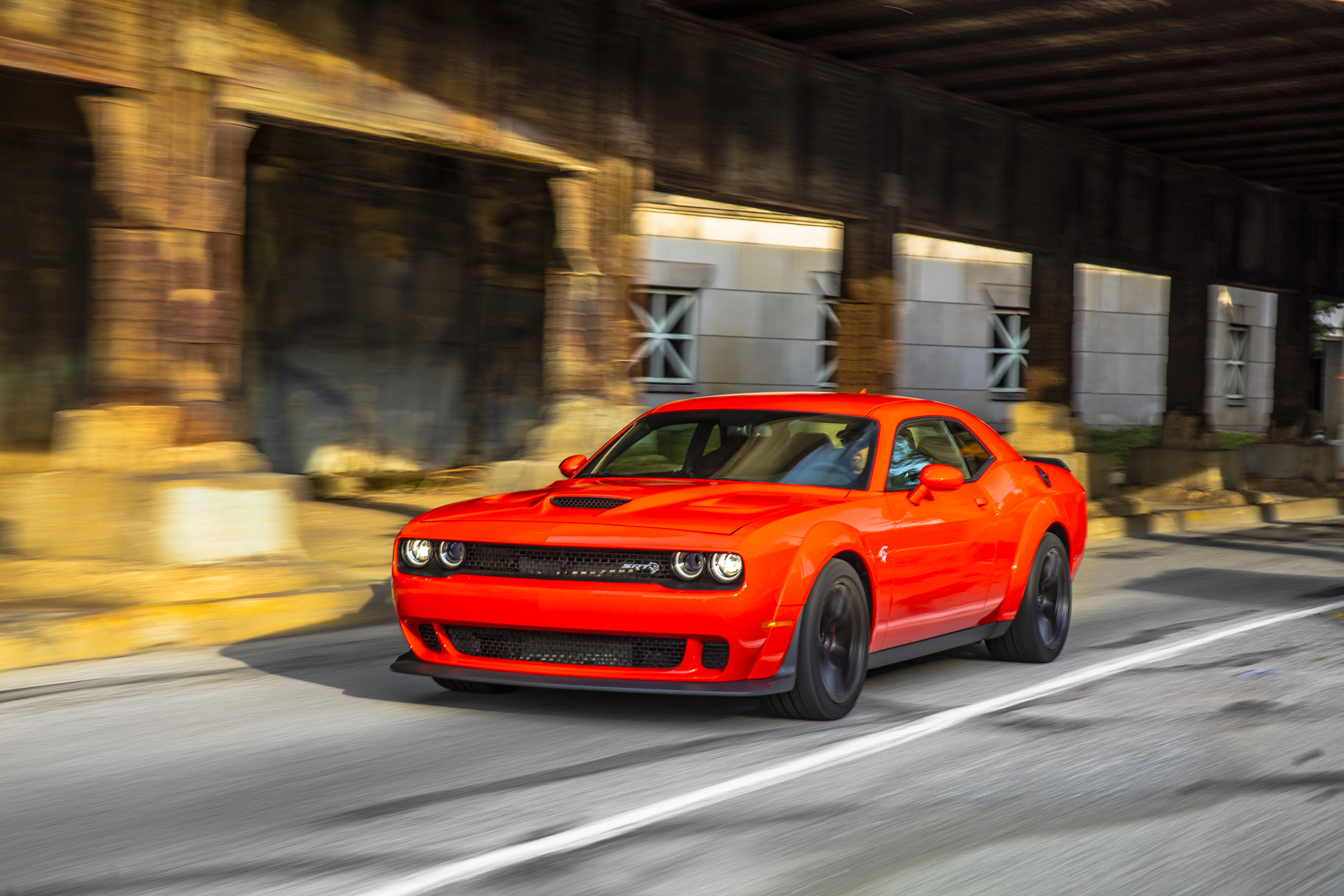 2018 Dodge Challenger Srt Hellcat Widebody First Drive Review Looks Incremental Improvements