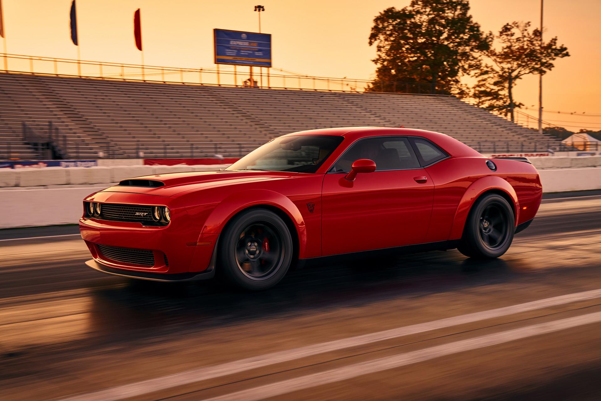2018 Dodge Challenger Srt Demon Will Be Priced Under 100 000