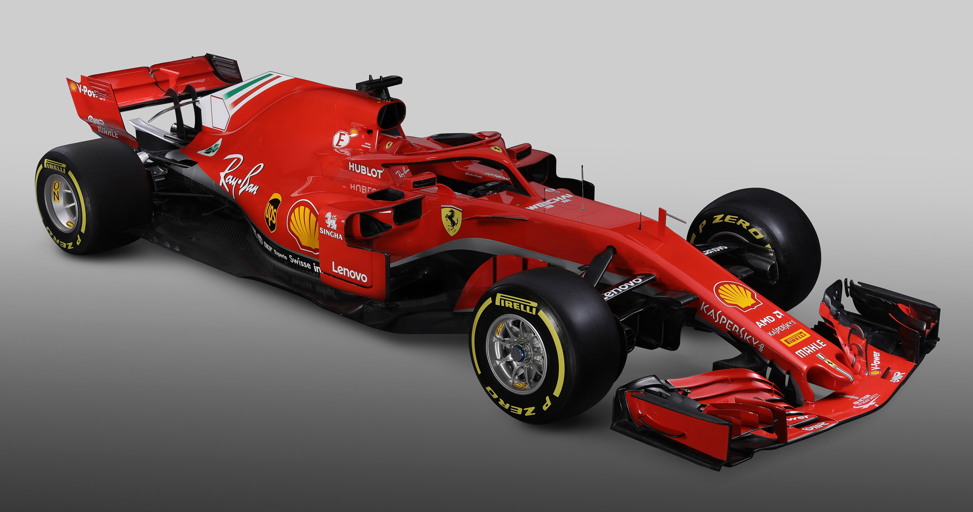 Ferrari reveals SF71H 2018 Formula 1 car