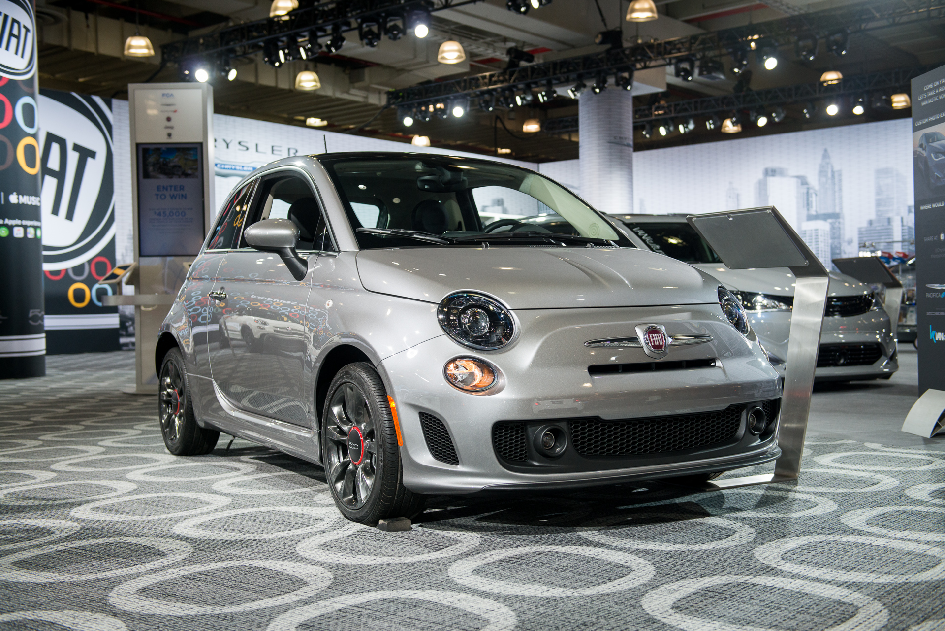 2018 fiat 500 urbana the citified subcompact car. Black Bedroom Furniture Sets. Home Design Ideas