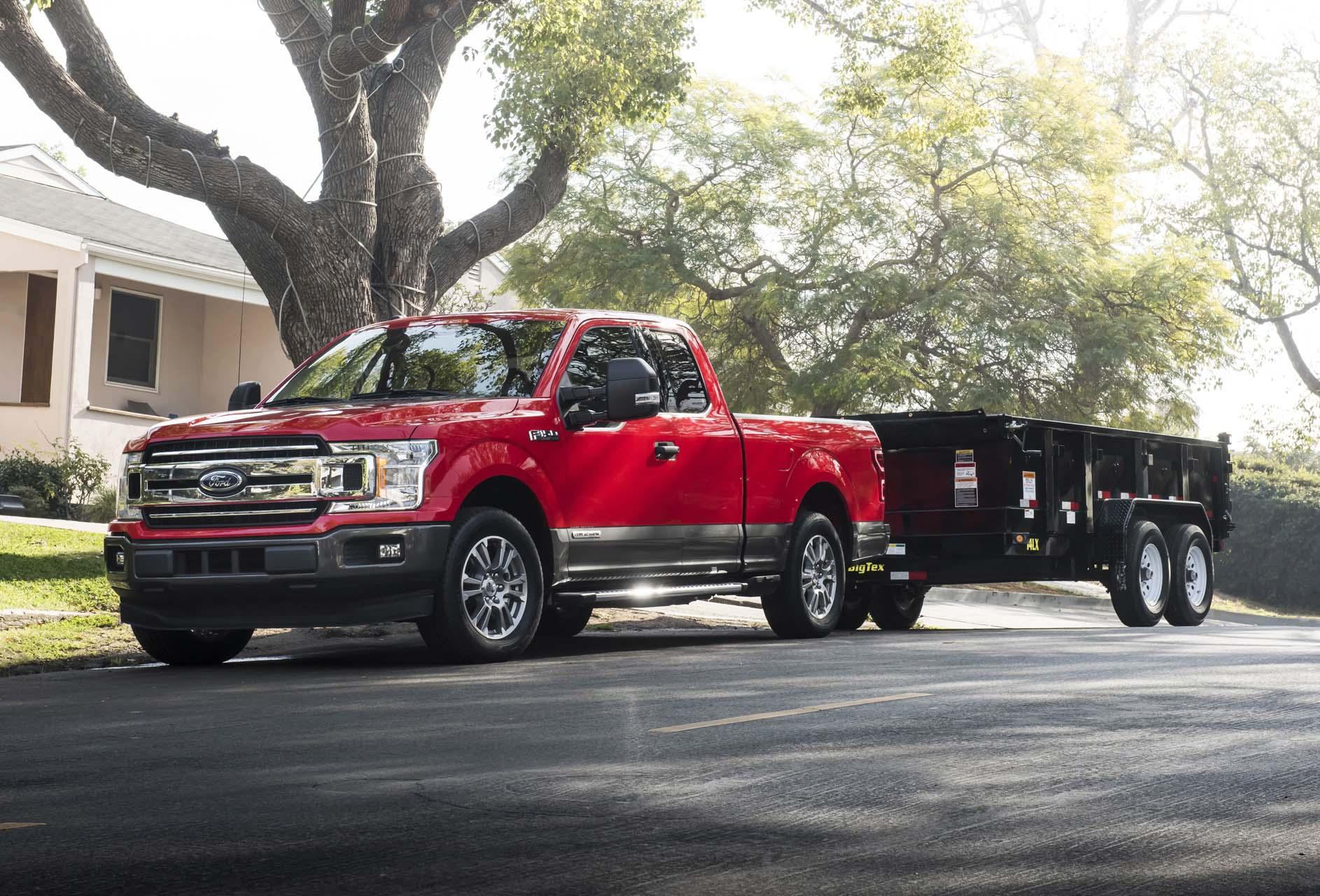 2018 ford f 150 power stroke diesel rated at 30 mpg highway with a big catch