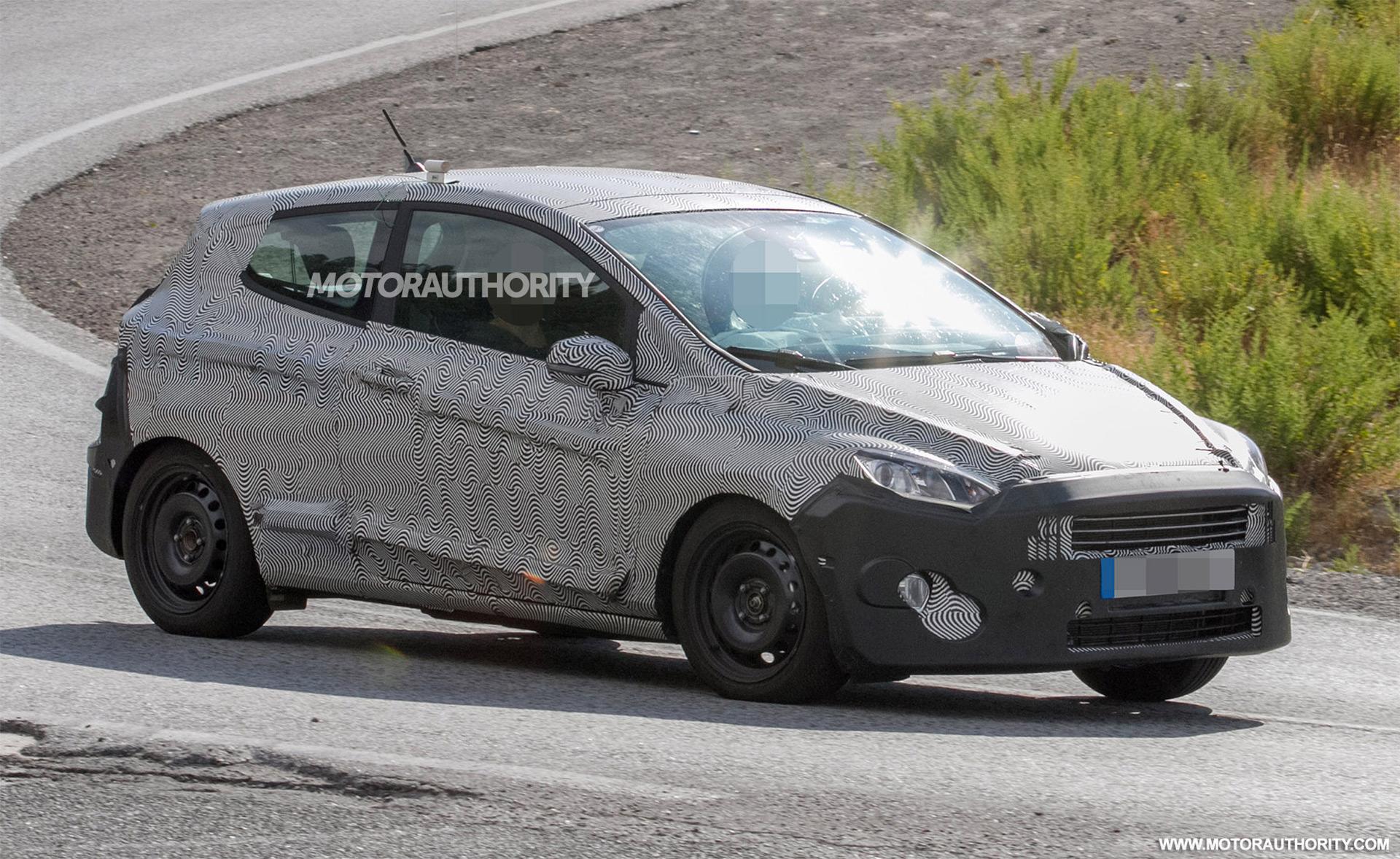 2018 Ford Fiesta 3 Door Spy Shots