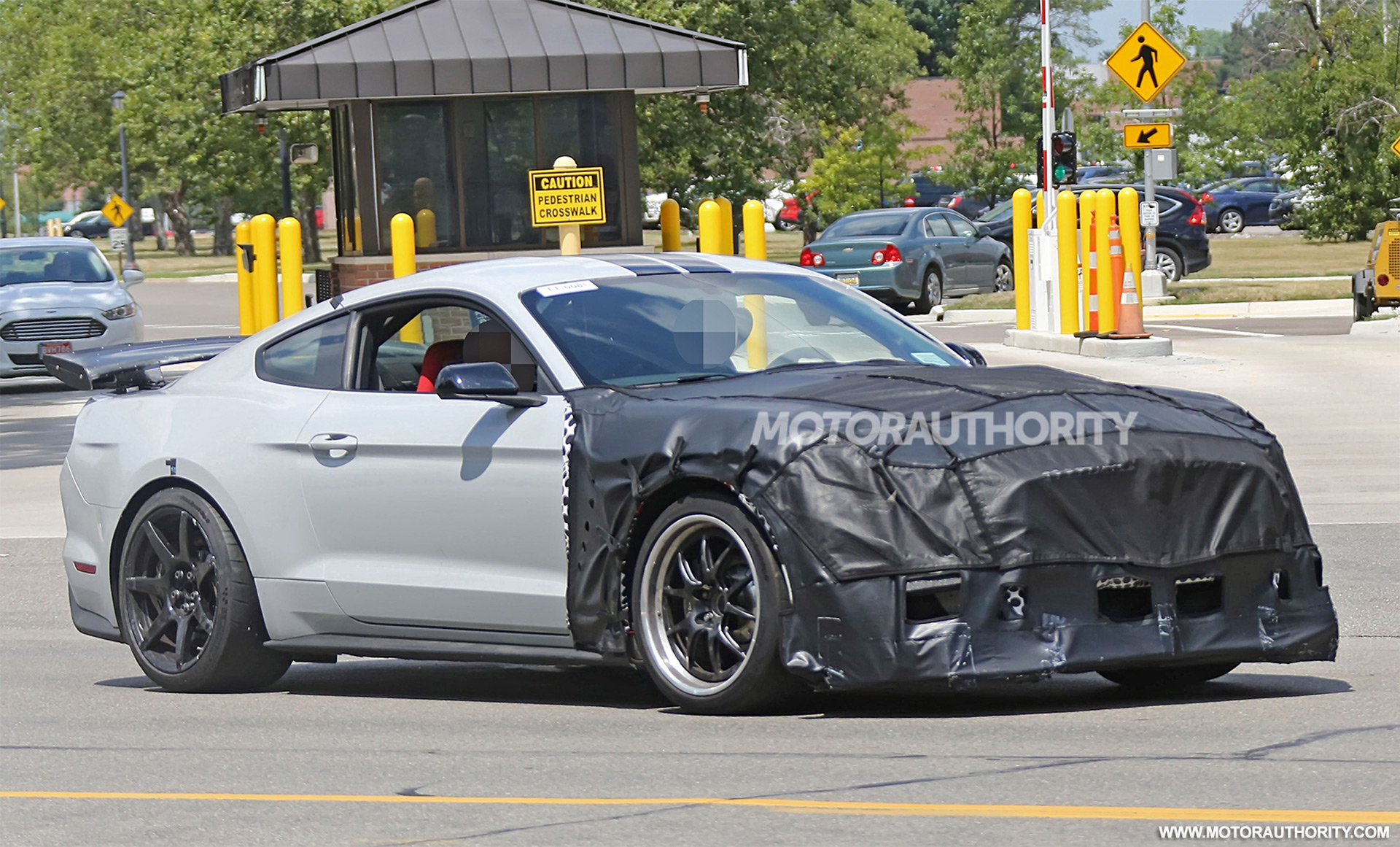 Awesome 2020 Ford Mustang Shelby GT500 Spy Shots   Image Via S. Baldauf/SB