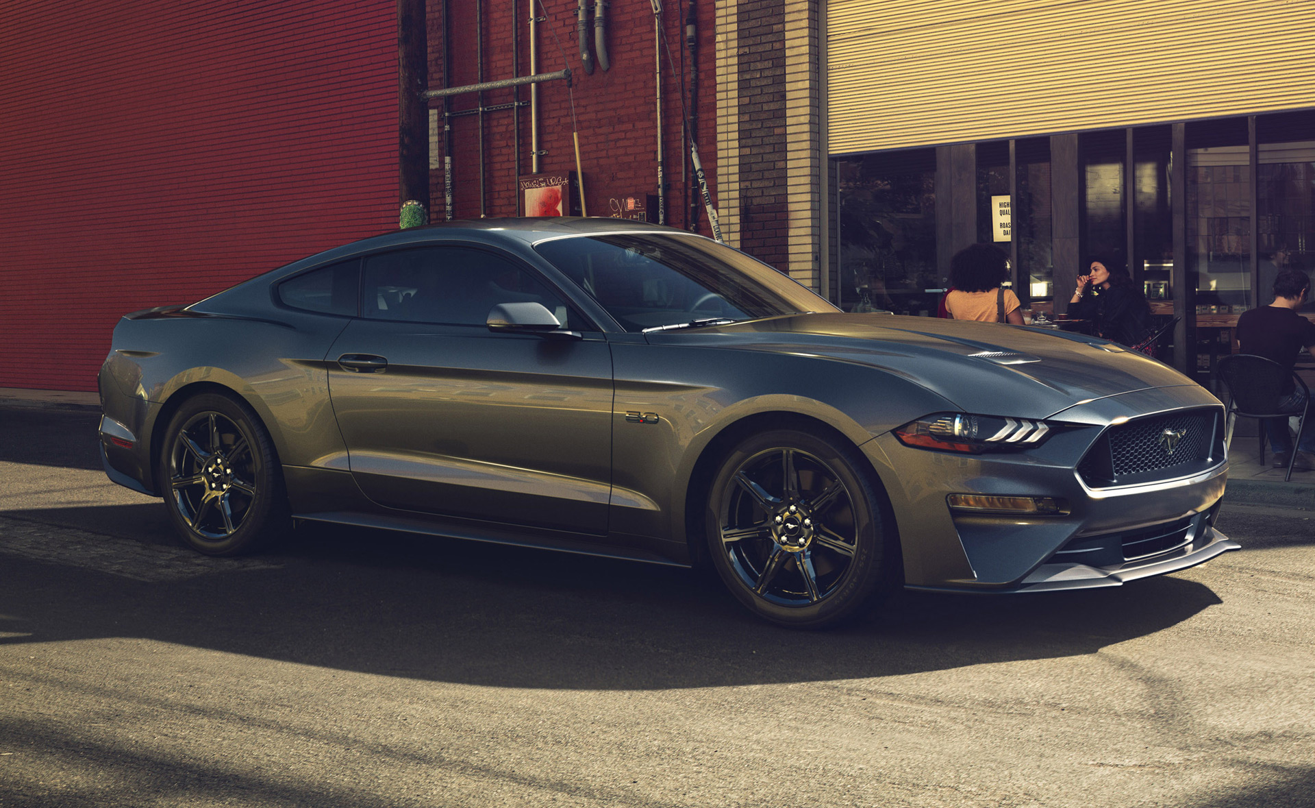 2018 ford mustang gt window sticker reveals 10 speed autos gas mileage gains
