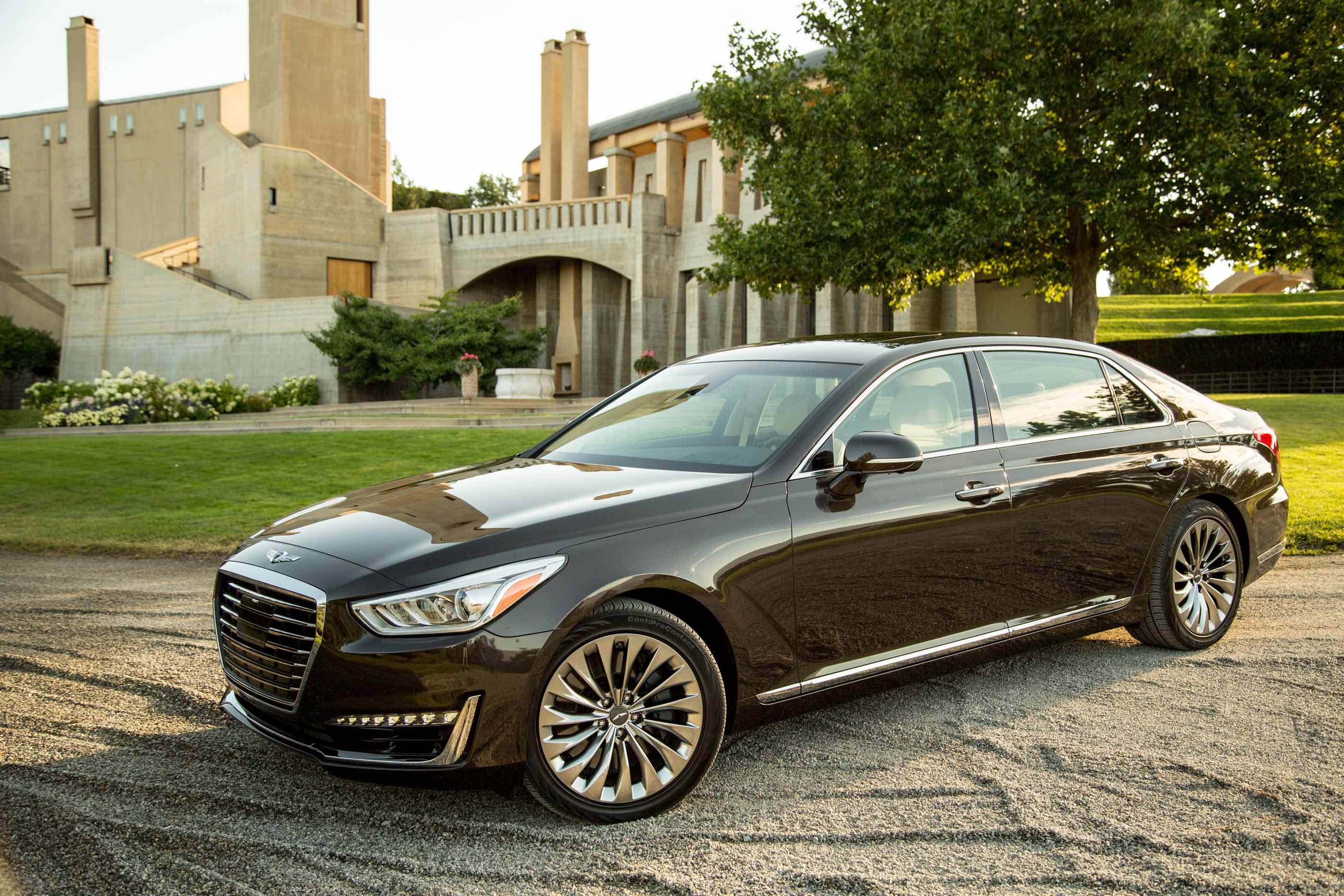 2018 Genesis G90 Review Ratings Specs Prices And Photos The Car Connection