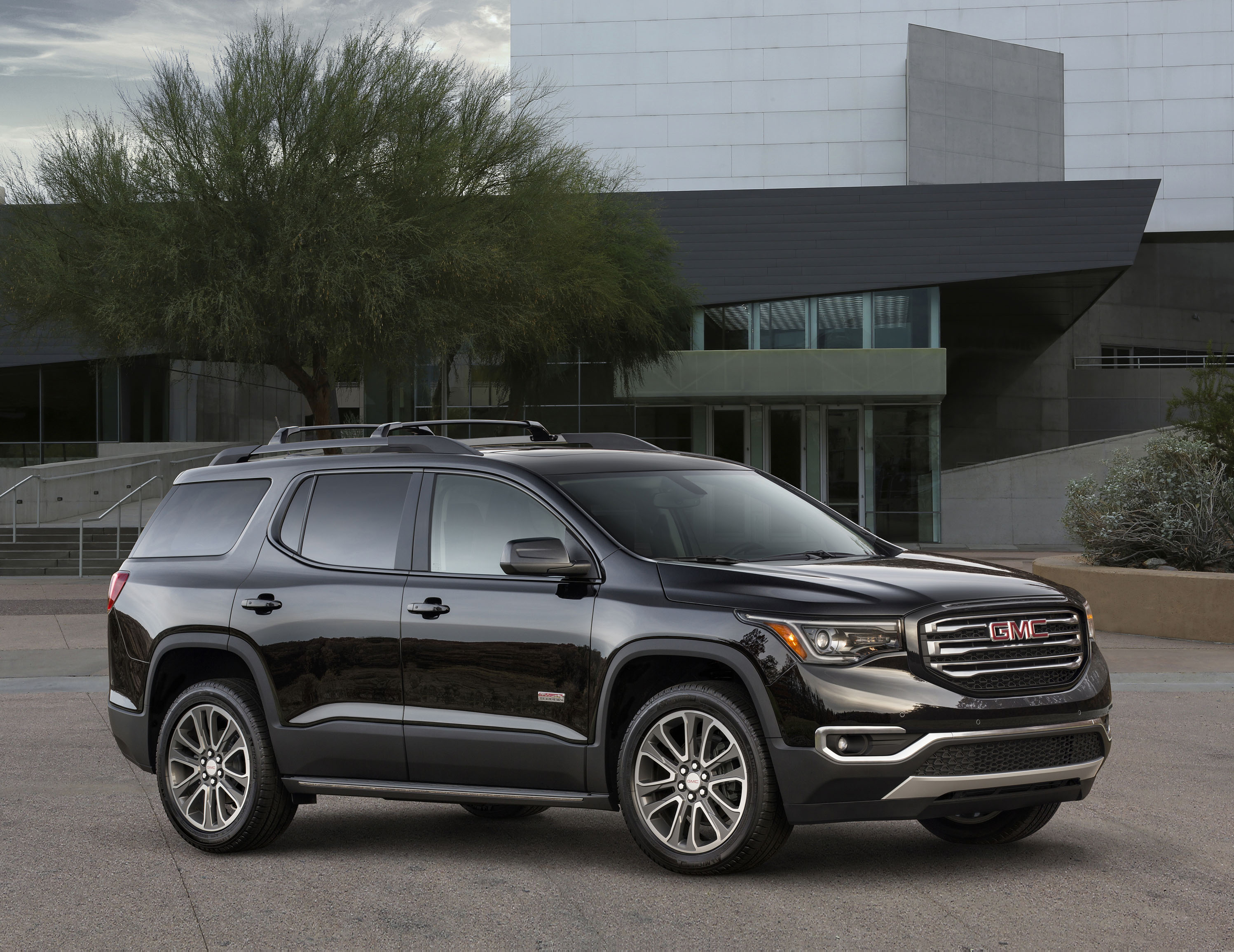 2018 gmc acadia review ratings specs prices and photos the car connection. Black Bedroom Furniture Sets. Home Design Ideas
