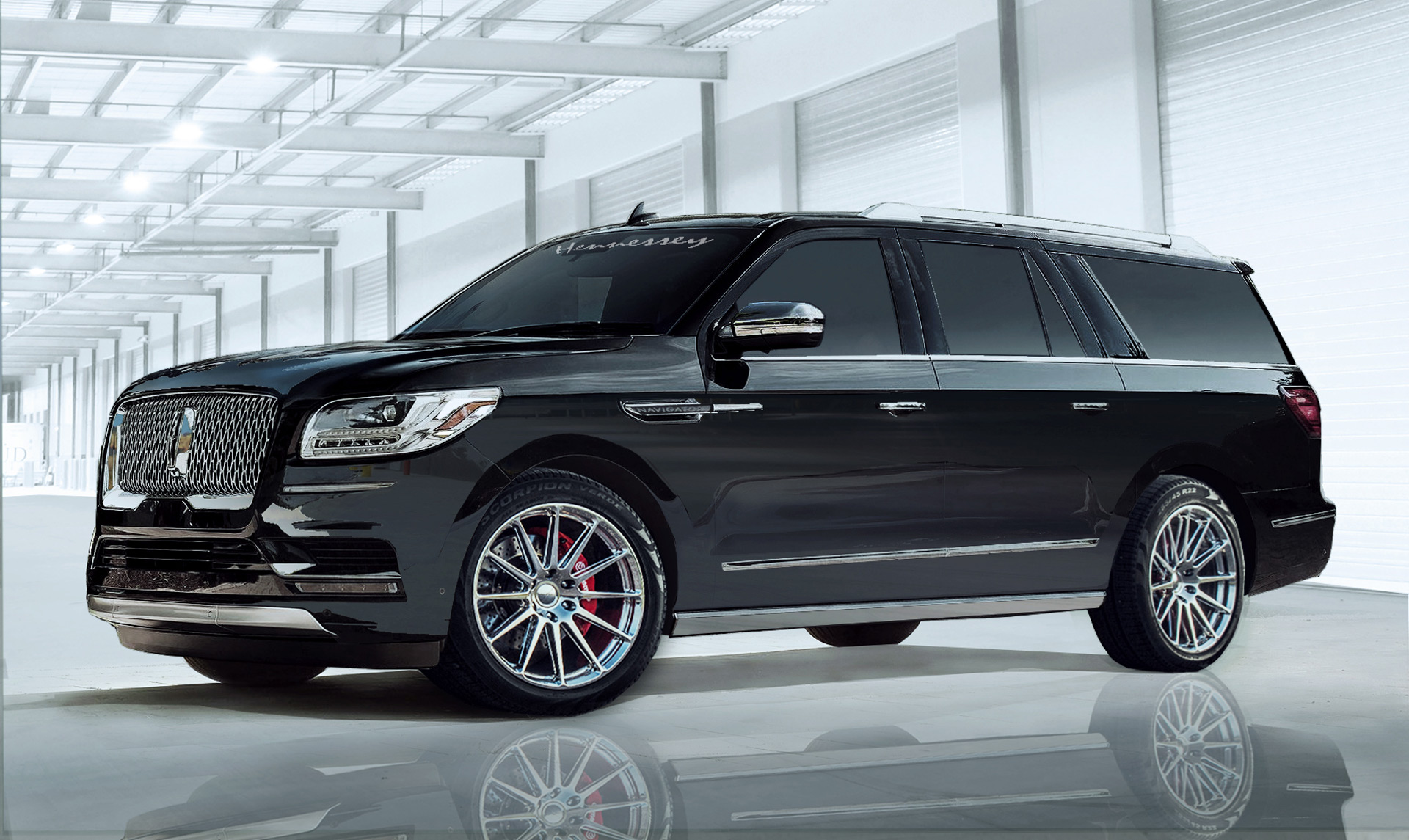 Hennessey's 600-hp Lincoln Navigator has arrived