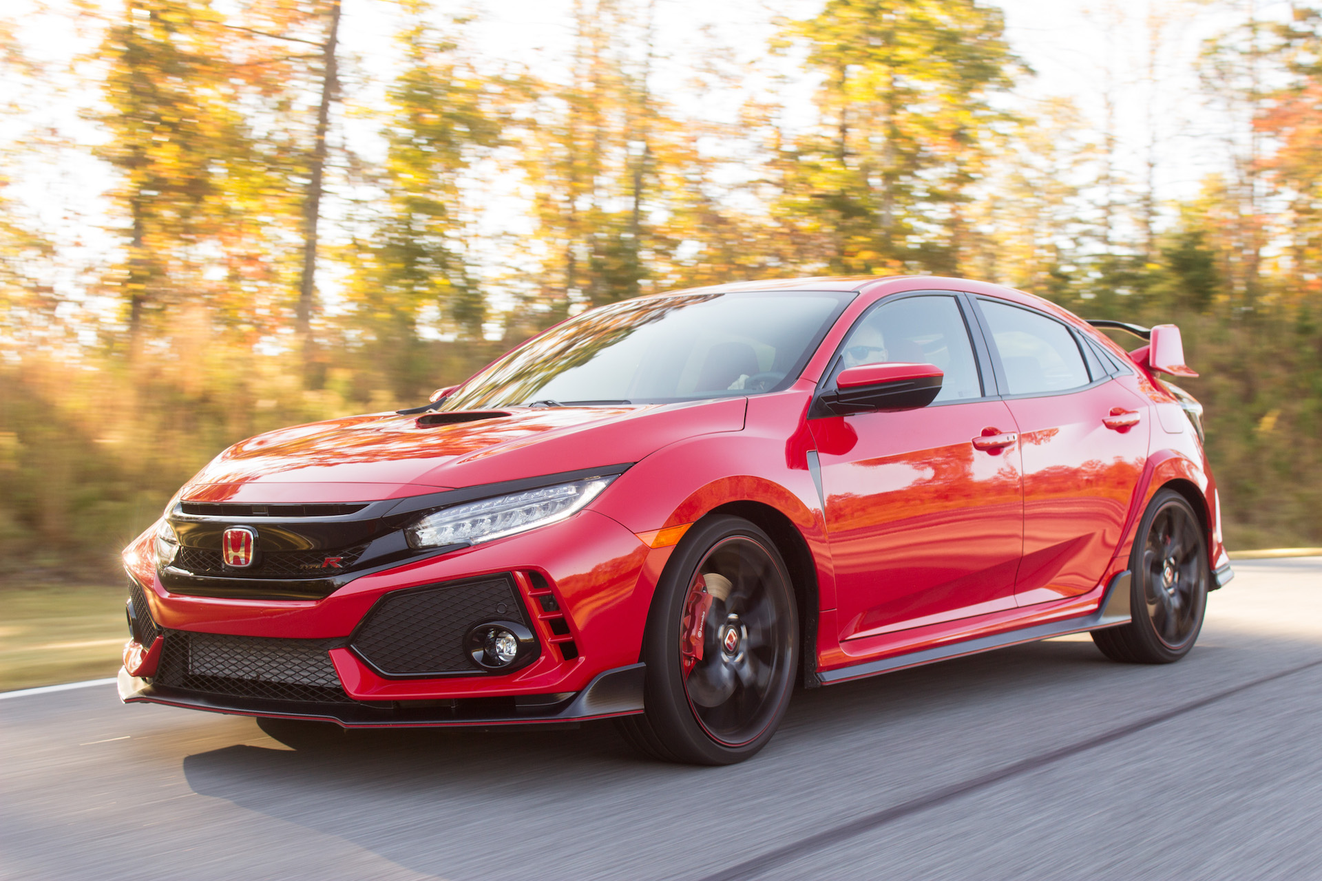 2018 honda civic type r review ratings specs prices and photos the car connection. Black Bedroom Furniture Sets. Home Design Ideas
