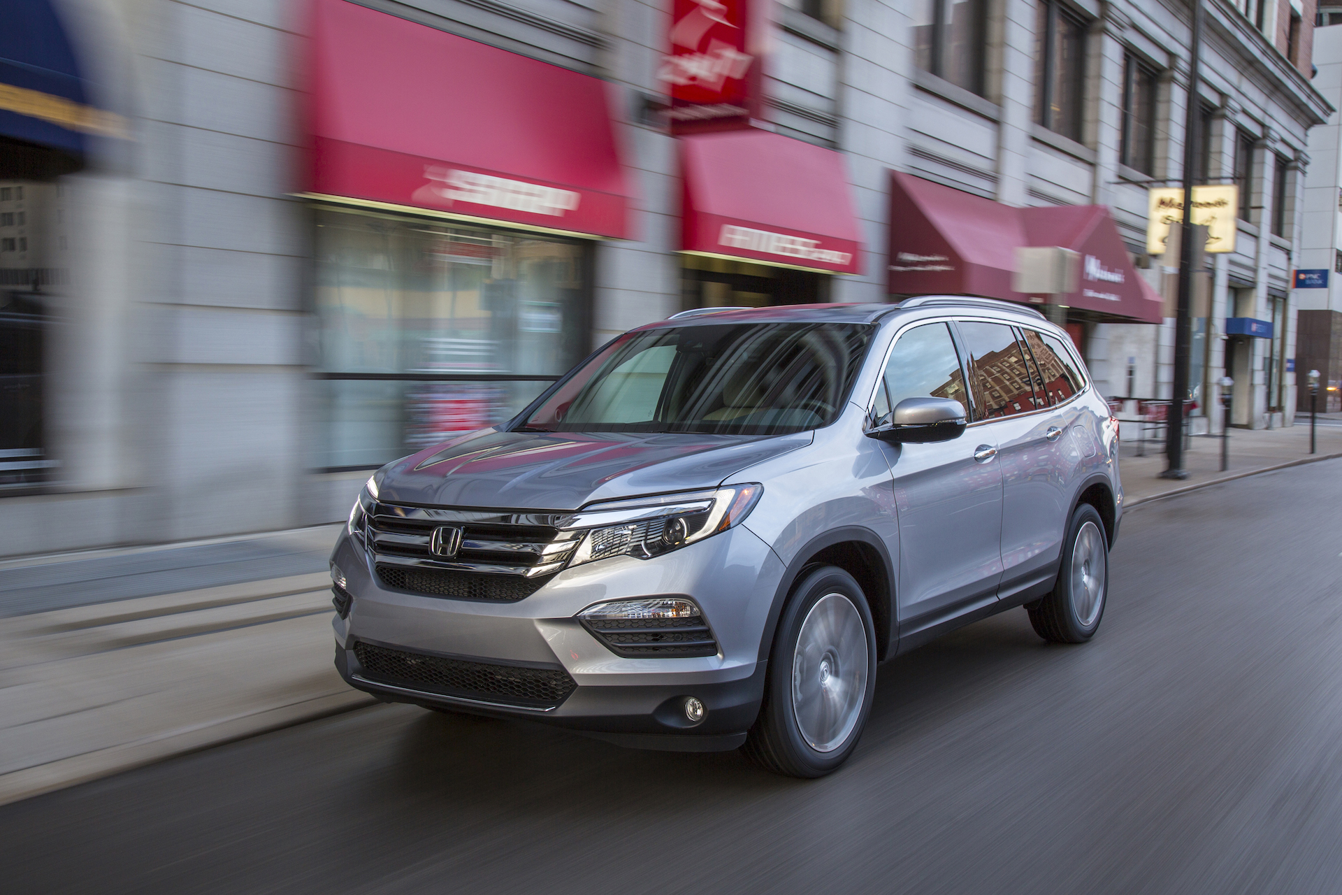 2018 Honda Pilot Redesign >> 2018 Honda Pilot Review Ratings Specs Prices And Photos