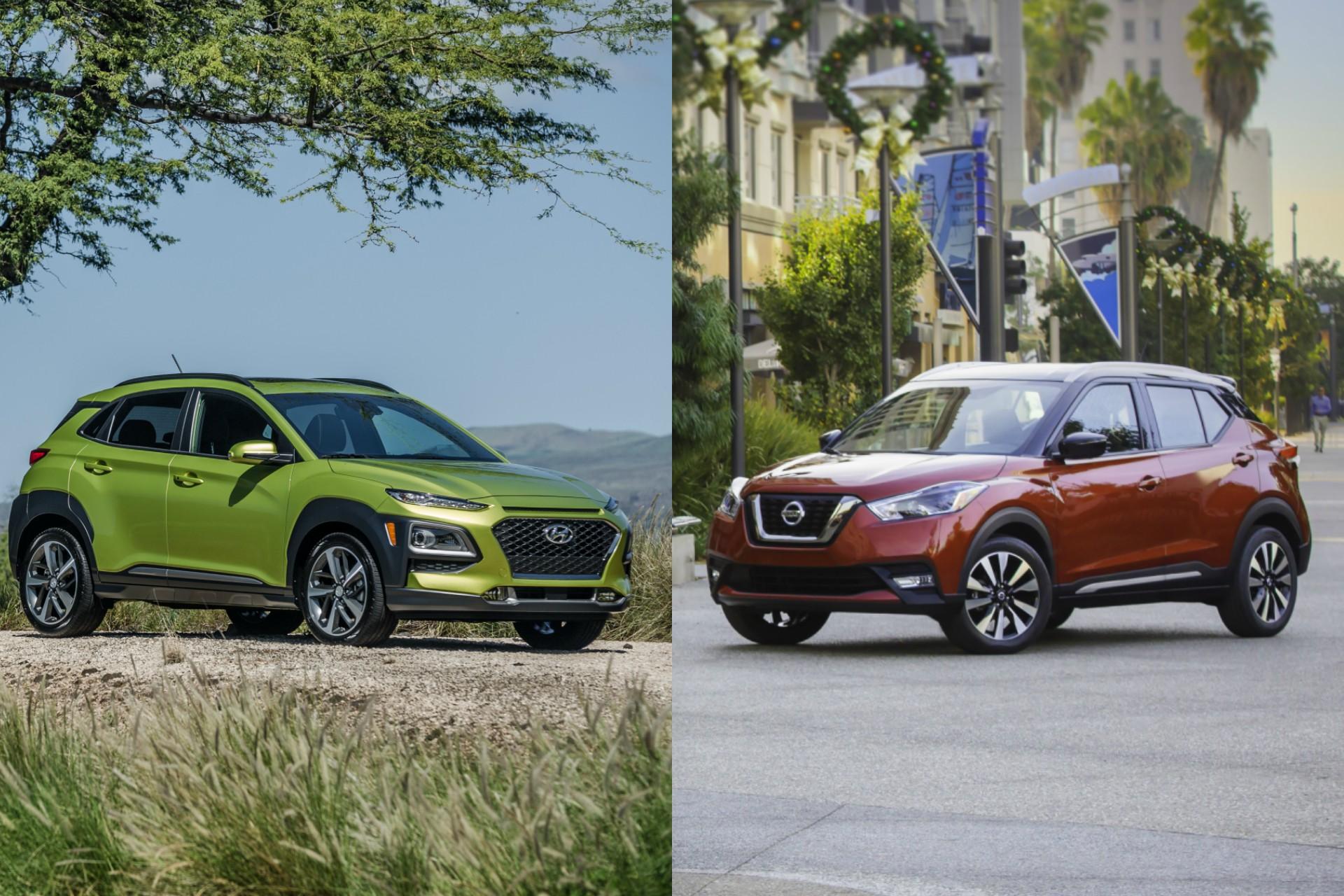 2020 Nissan Qashqai Hybrid Debuts Next Year >> Hyundai Kona Nissan Kicks New Small Crossovers Storm The