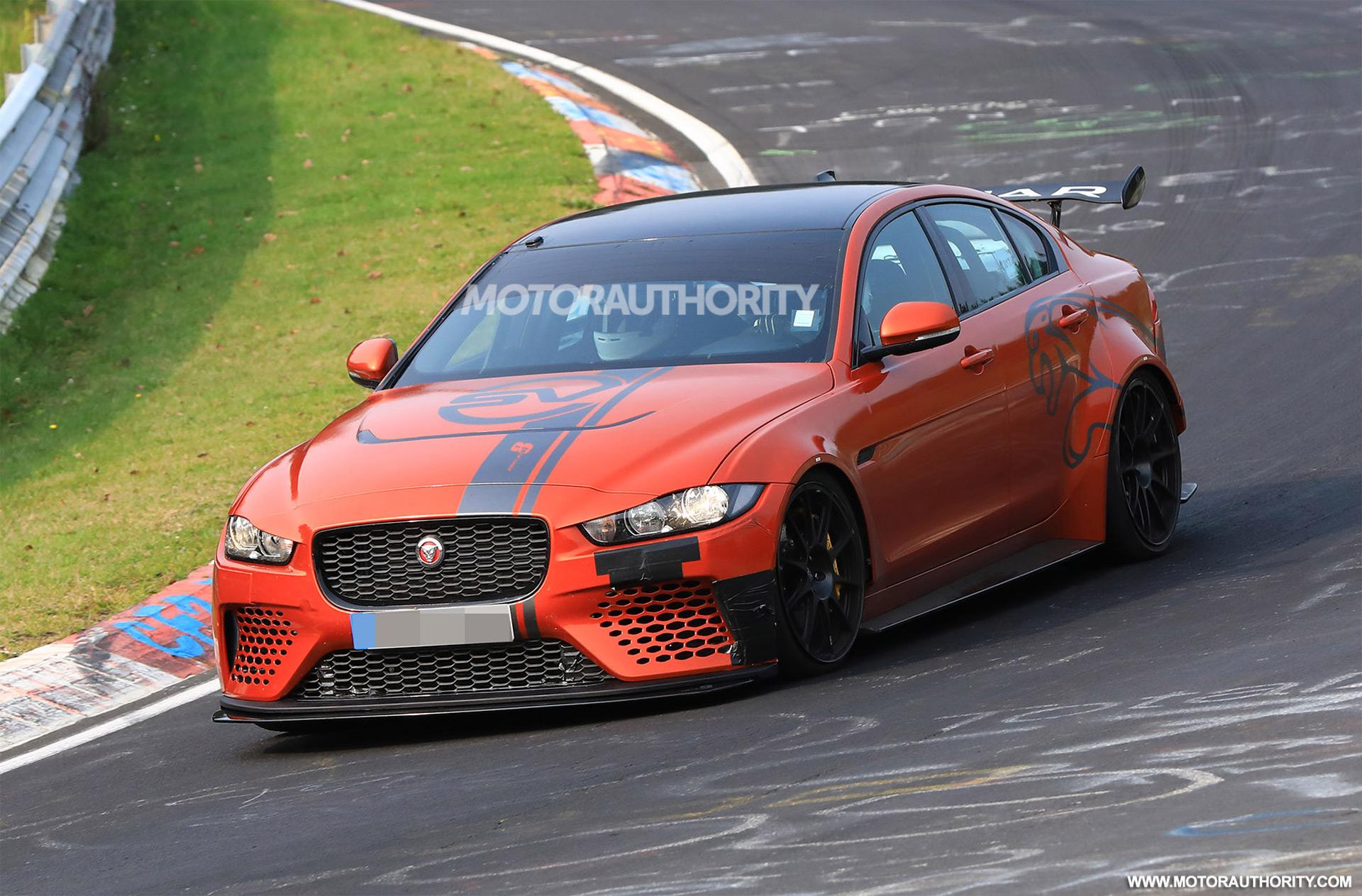 2018 jaguar 4 door. unique 2018 jaguar targeting 4 door nrburgring record with xe sv project 8 dekarlovofo  image collections intended 2018 jaguar