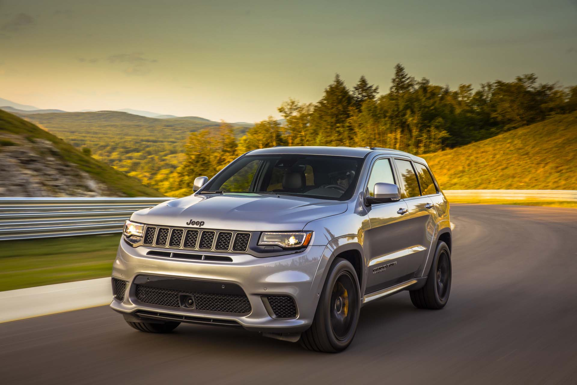 2018 jeep grand cherokee trackhawk first drive the most expensive violent hellcat yet. Black Bedroom Furniture Sets. Home Design Ideas