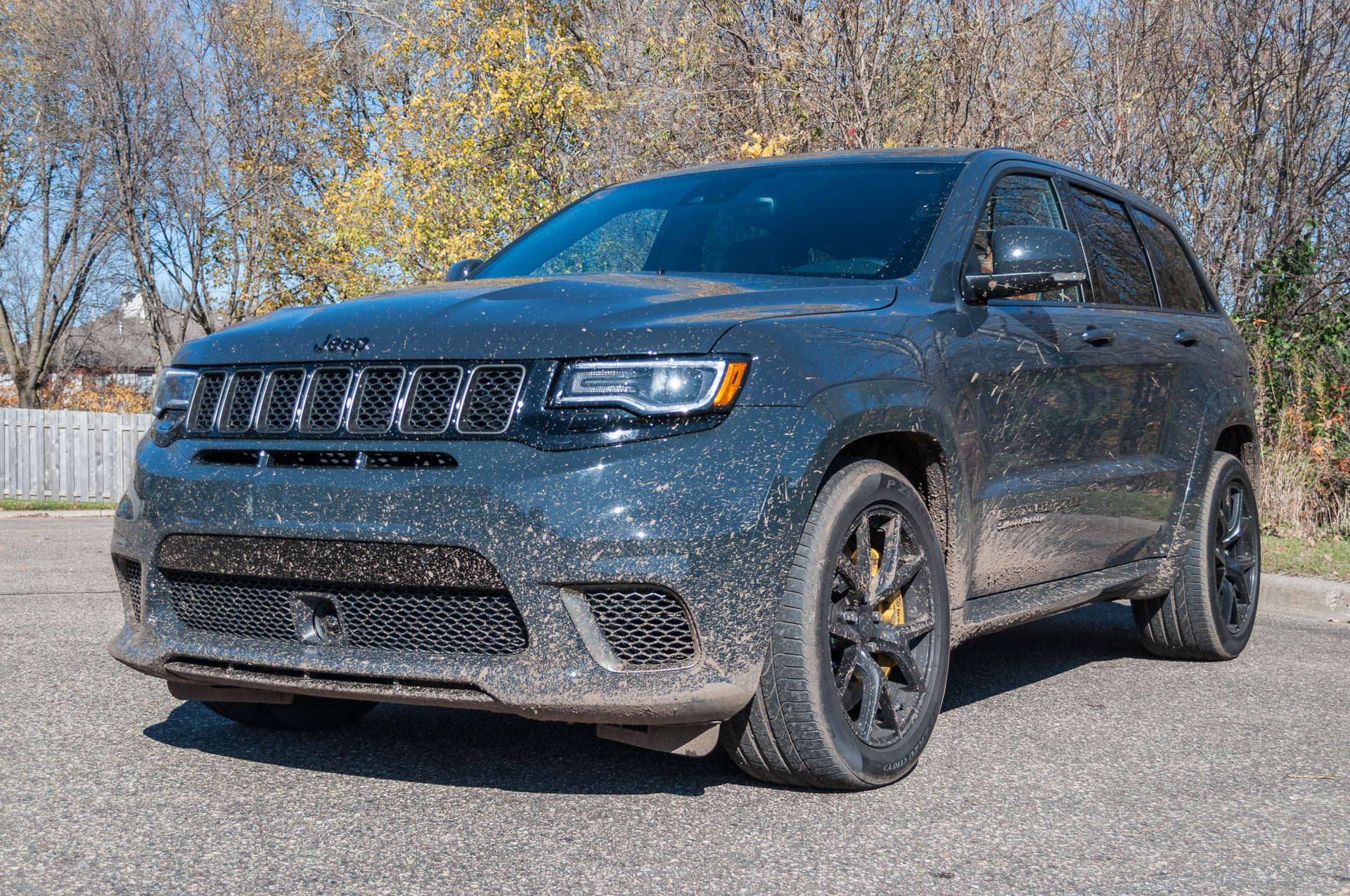 8 things we learned living with the 2018 jeep grand cherokee trackhawk page 2. Black Bedroom Furniture Sets. Home Design Ideas