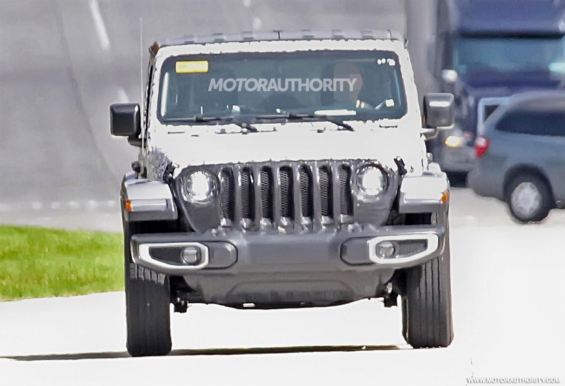 Jeep Wrangler Spy Shots