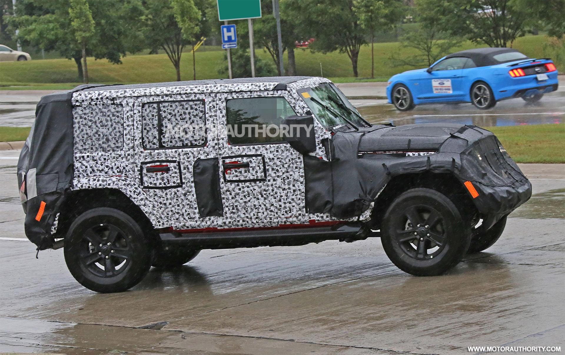 2018 jeep wrangler unlimited spy shots. Black Bedroom Furniture Sets. Home Design Ideas