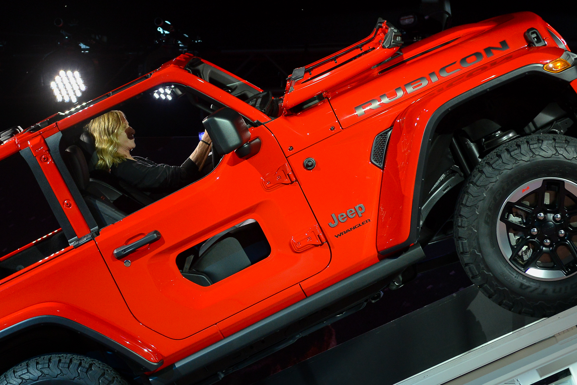 Holy Jeep Check Out The New Jeep Wrangler S Half Door Option